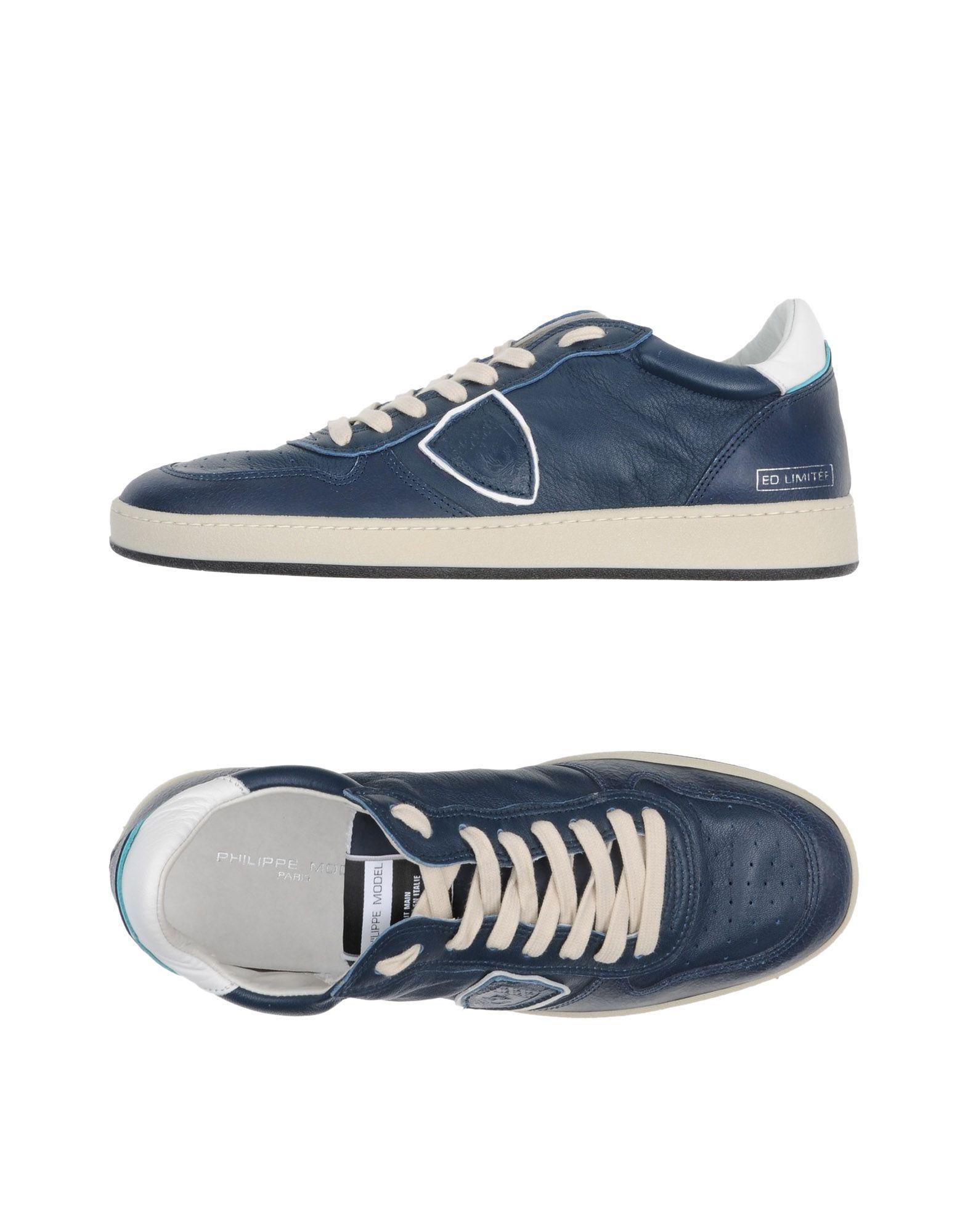 Rabatt echte Schuhe Philippe Model Sneakers Herren  11221858IL