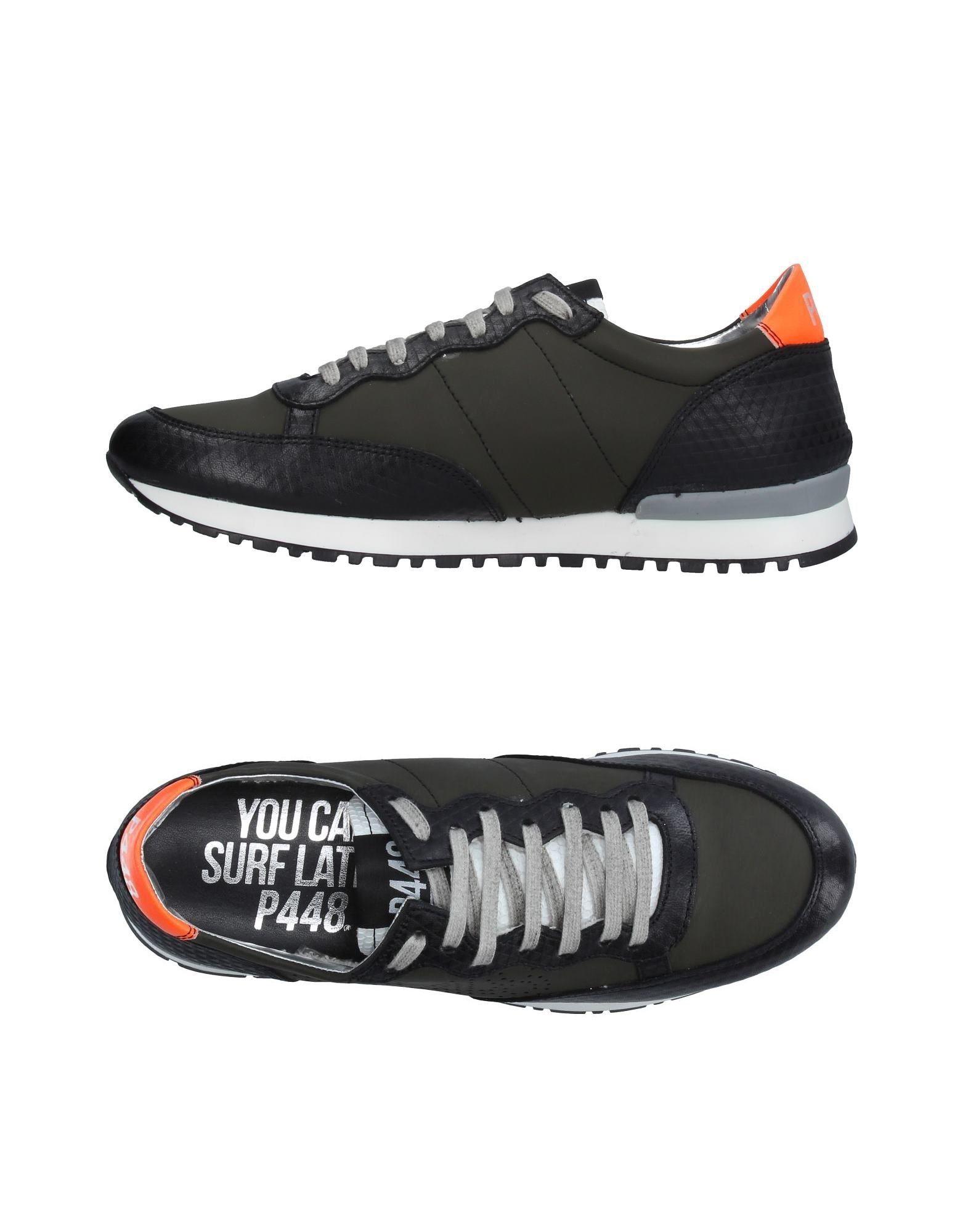 Rabatt echte Schuhe P448 Sneakers Herren  11222606VI