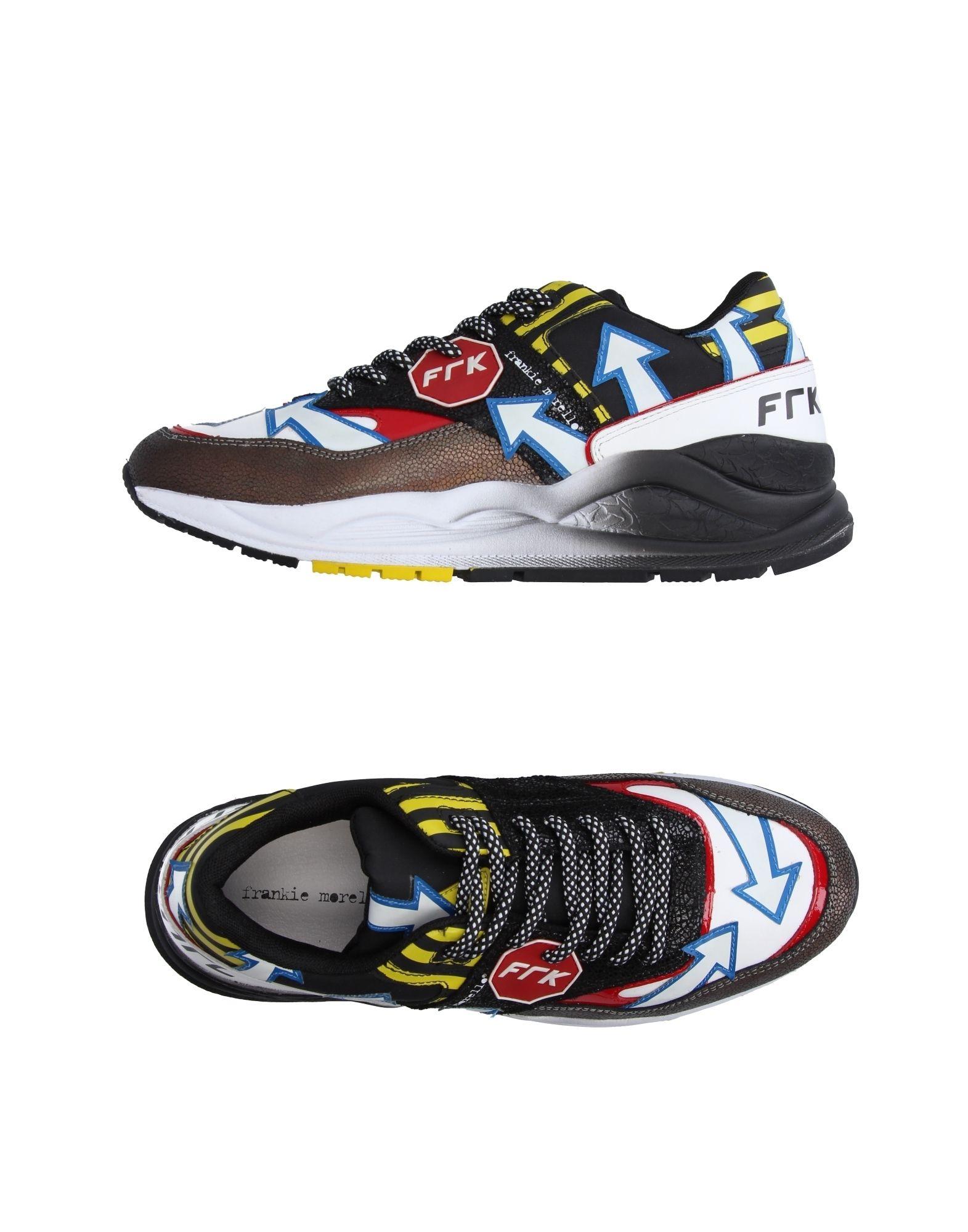 Sneakers Frankie Morello Homme - Sneakers Frankie Morello  Noir Réduction de prix saisonnier, remise