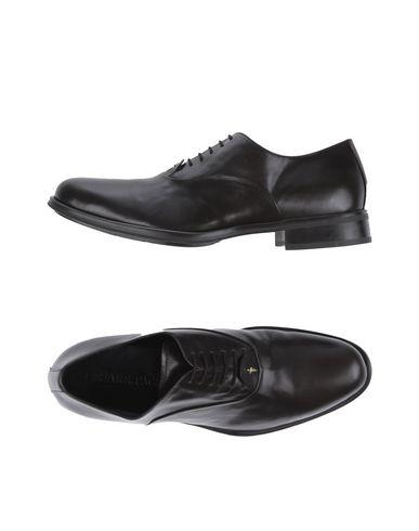 CESARE PACIOTTI Laced shoes Dark brown Men