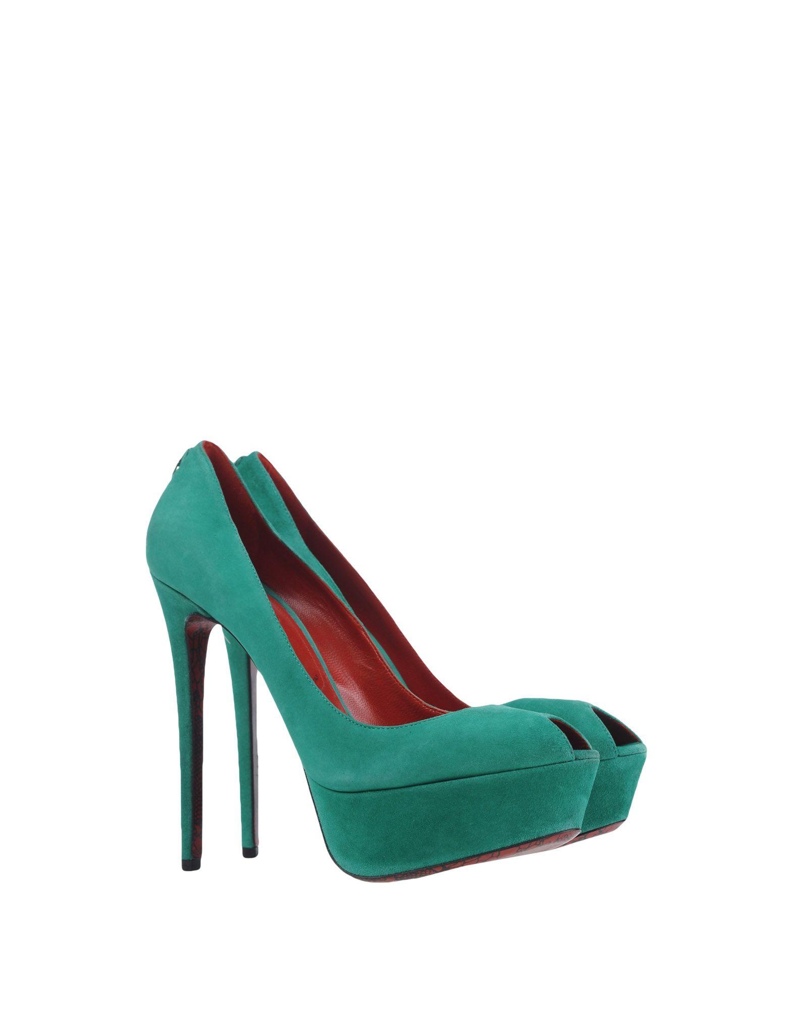 Stilvolle billige Schuhe Cesare Paciotti Pumps Damen  11223068CK