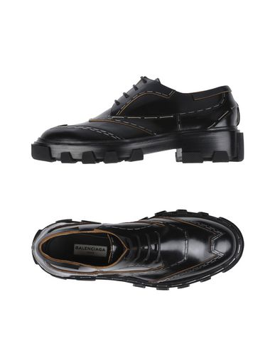 À Chaussures Balenciaga Chaussures Noir Lacets Balenciaga À xqBanR1