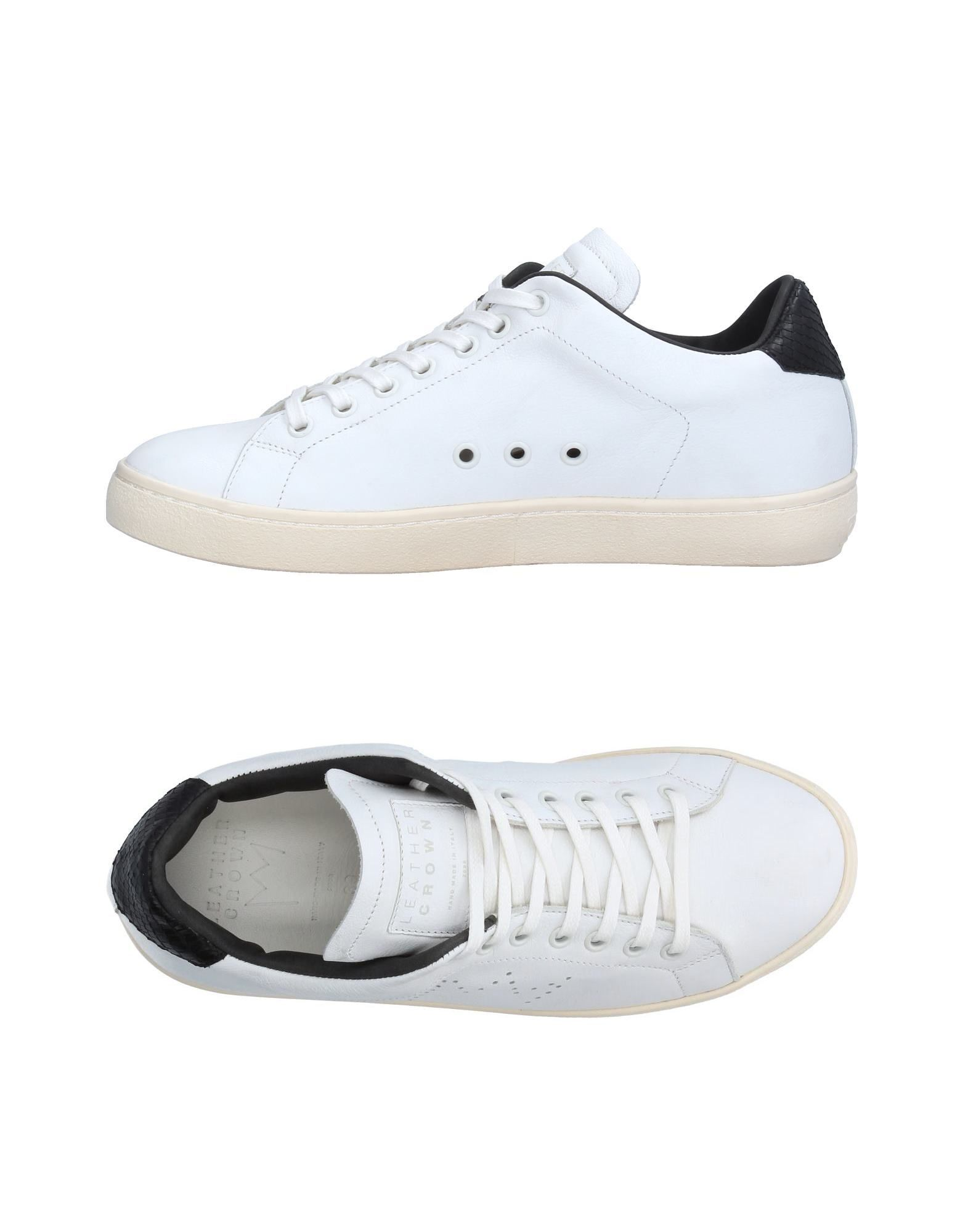 Sneakers Leather Crown Donna - 11223701LC
