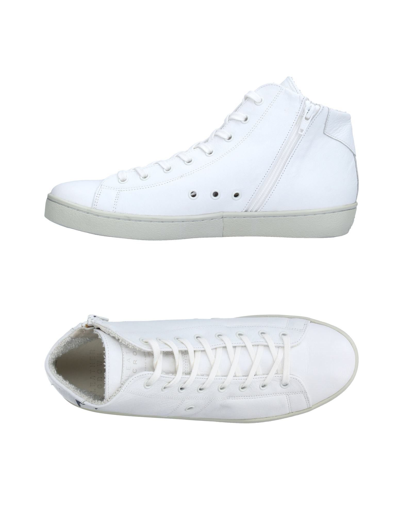 Sneakers Leather Crown Uomo - 11223908FG