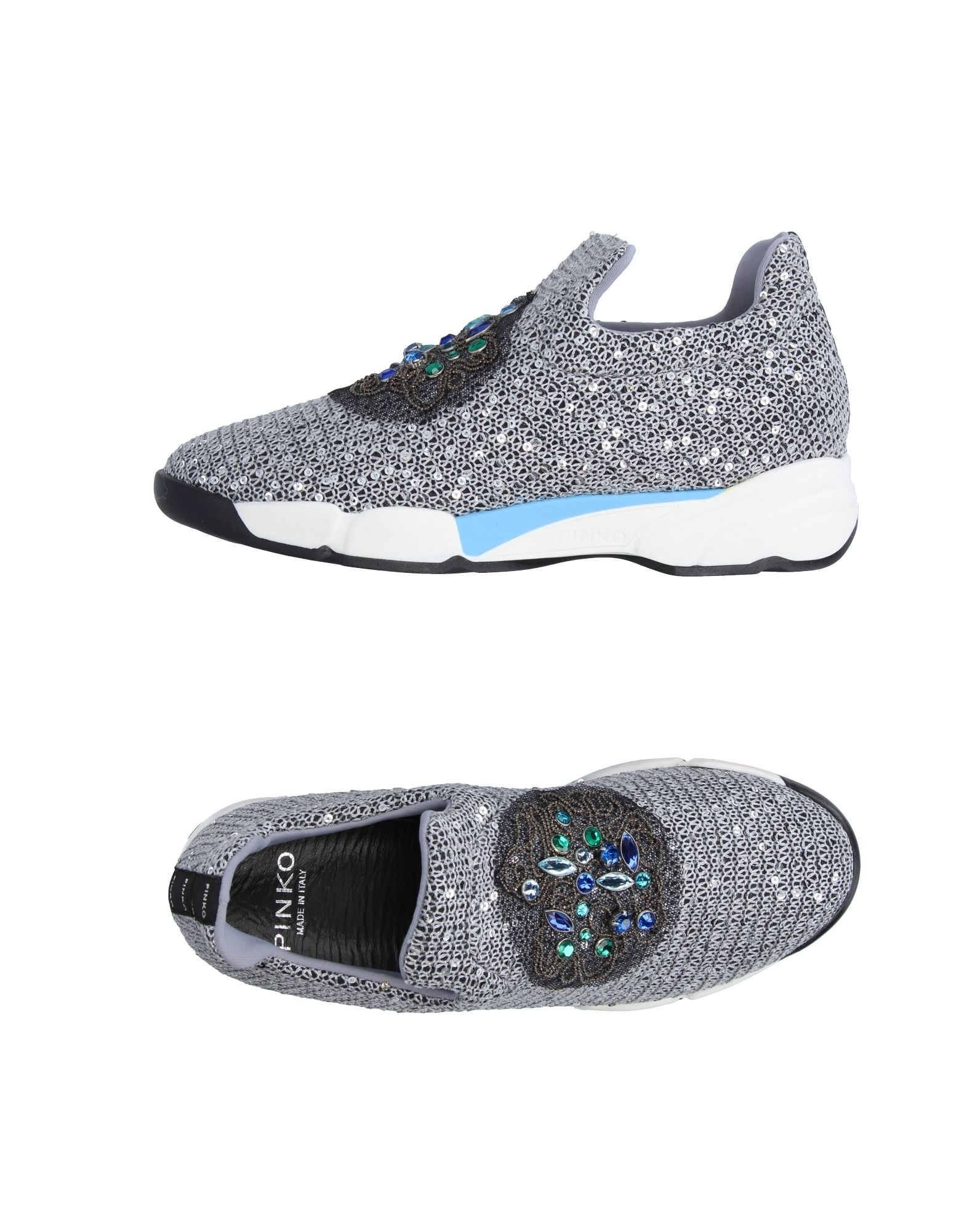 Baskets Pinko Femme - Baskets Pinko Gris clair Chaussures casual sauvages