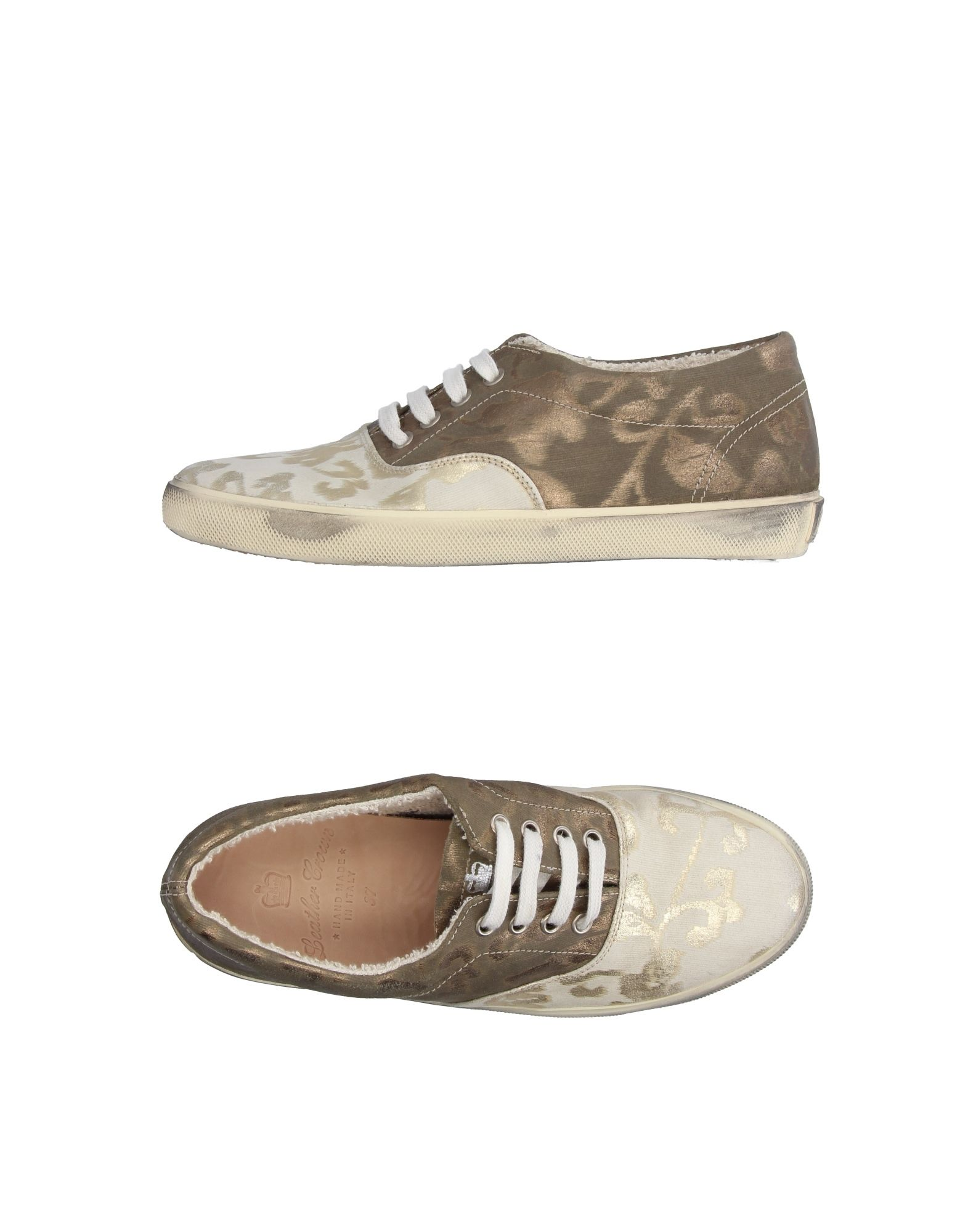 Sneakers Leather Crown Donna - 11227269AH