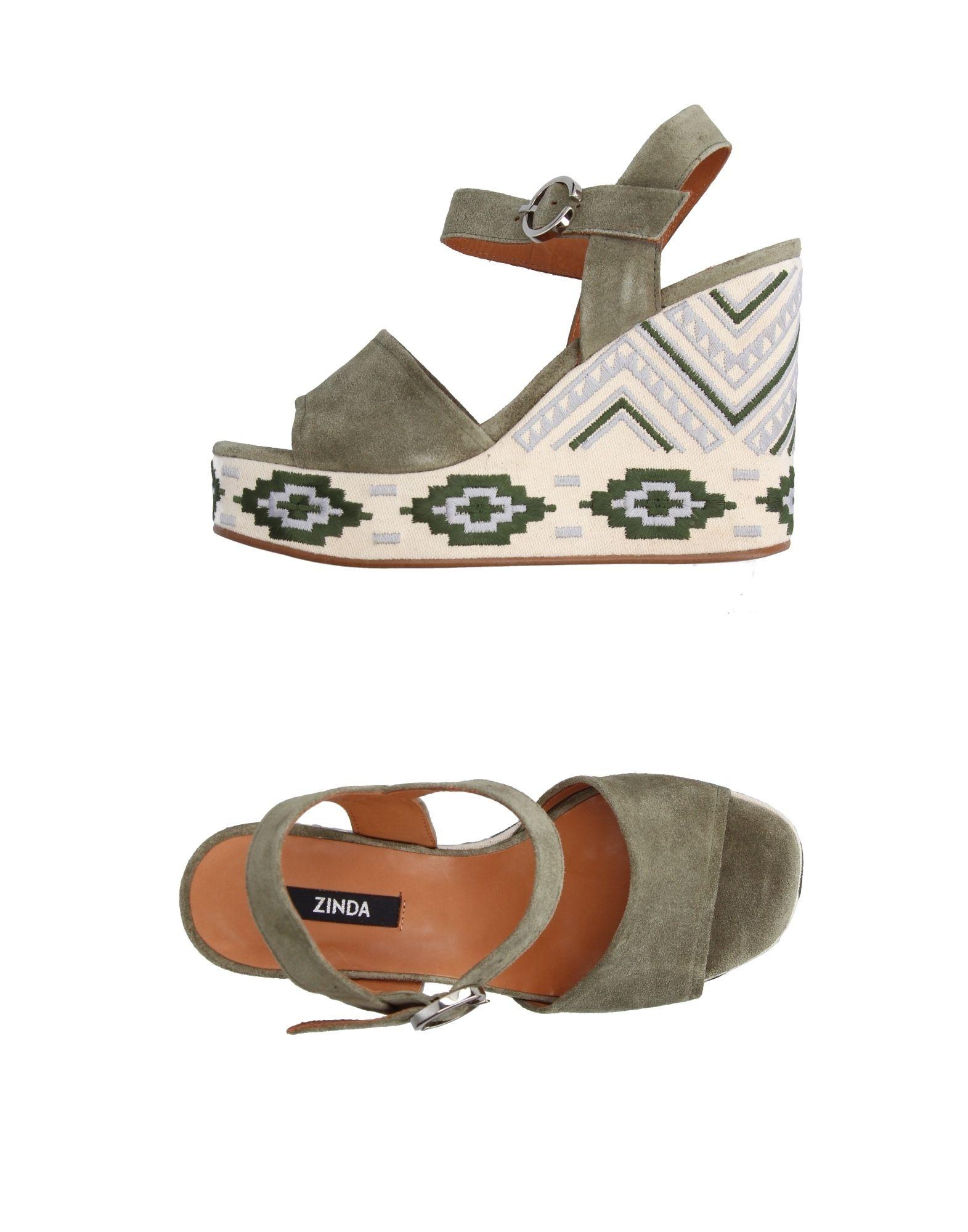 Gut um billige Schuhe zu tragenZinda Sandalen Damen  11227610XL