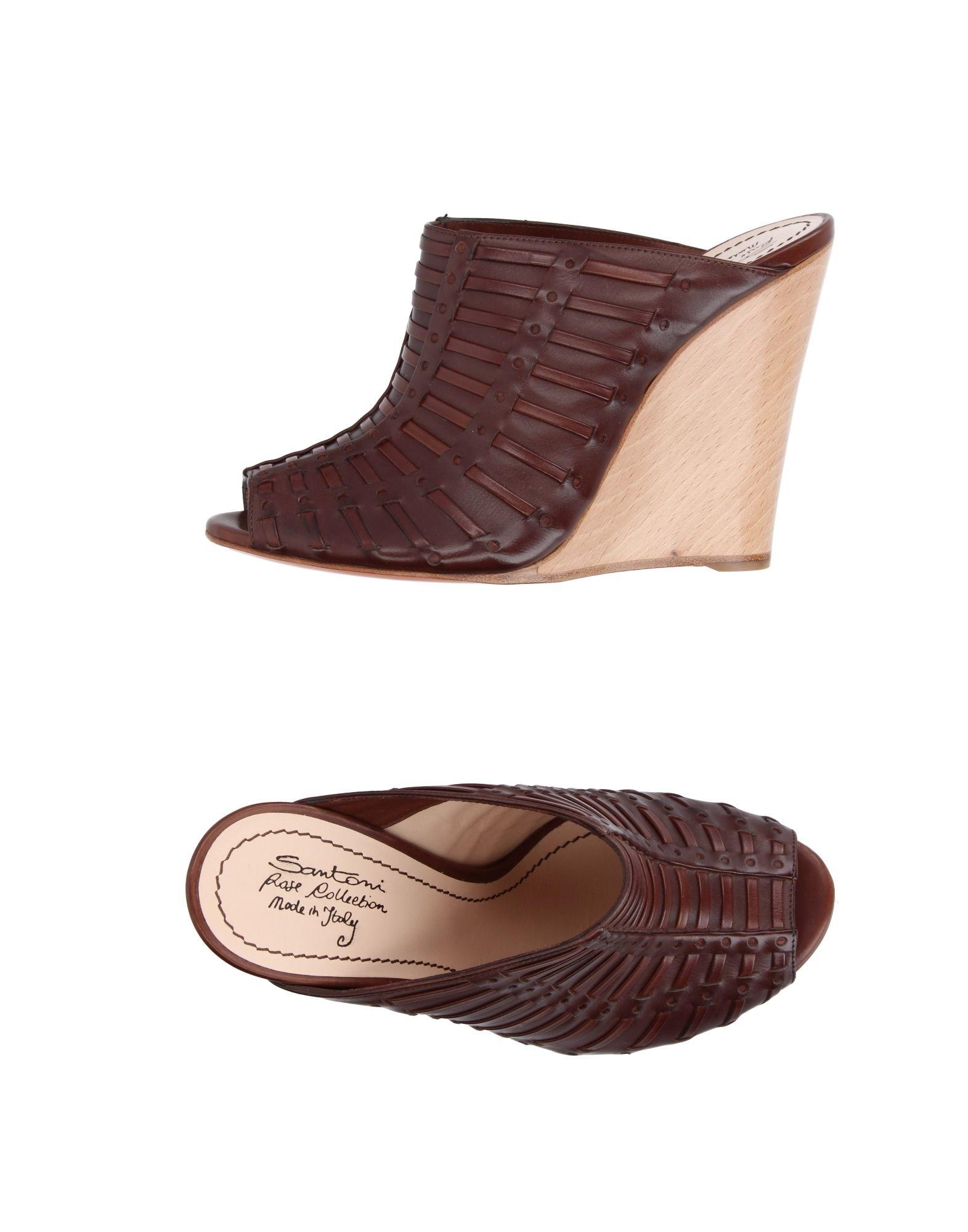 Santoni Pantoletten Damen  aussehende 11228865AAGut aussehende  strapazierfähige Schuhe 05b851