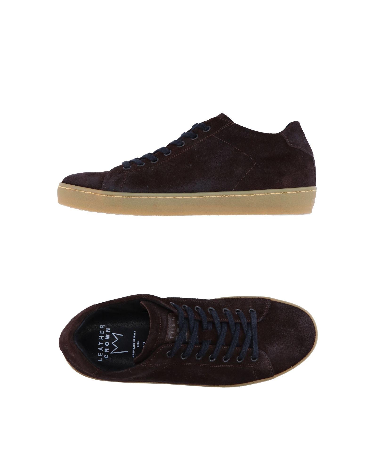 Sneakers Sneakers Sneakers Leather Crown Uomo - 11229850QU fb60a3