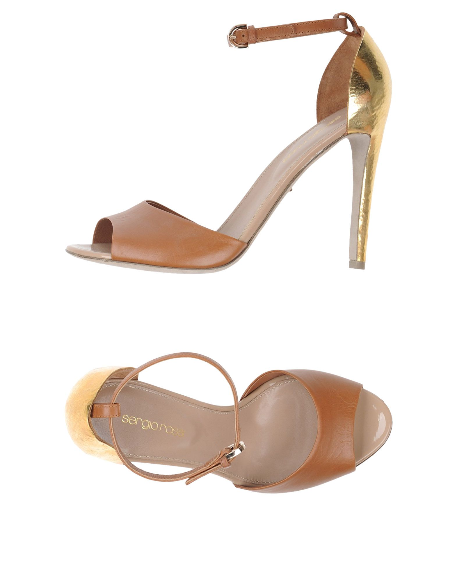 Sergio Rossi Sandalen Damen aussehende  11230831EDGünstige gut aussehende Damen Schuhe 4d1102