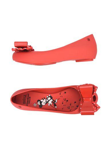 Zapatos de hombres y mujeres de moda casual Bailarina Melissa Ultragirl Mel Ultragirl Melissa + Minnie Iv - Mujer - Bailarinas Melissa - 11231177KT Rojo 733e1f