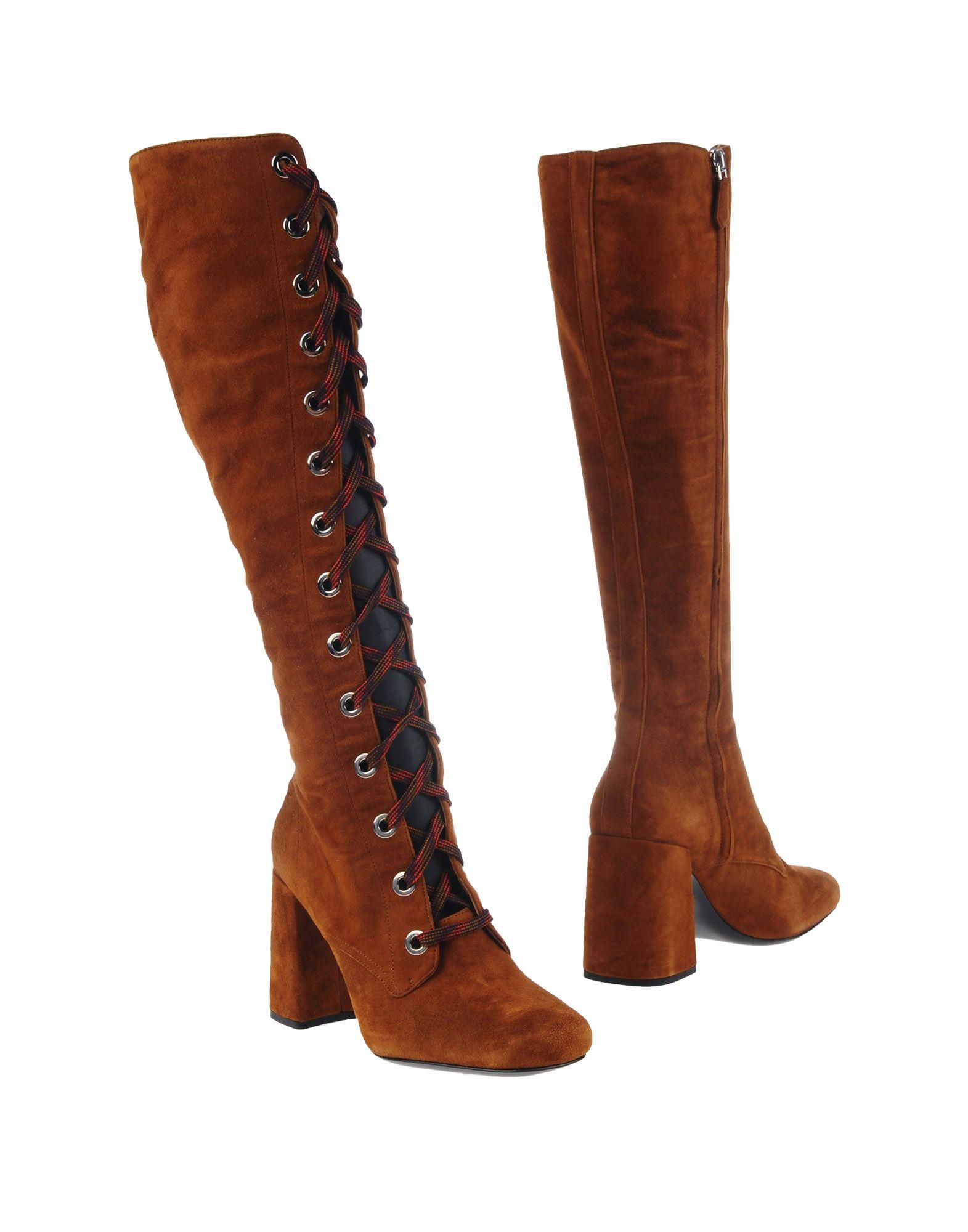Prada Stiefel Damen  11231561AJGünstige gut aussehende Schuhe