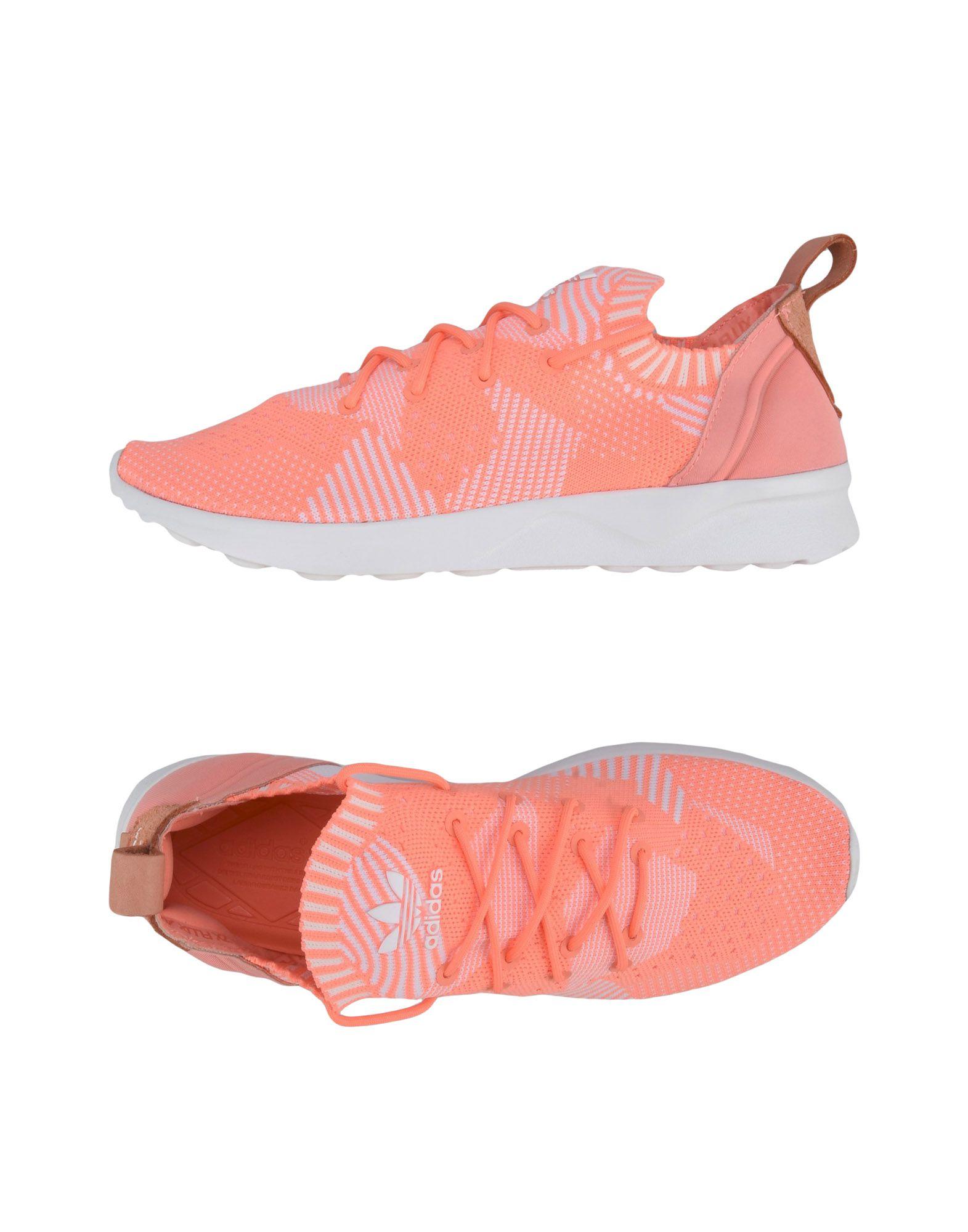 Baskets Adidas Originals Zx Flux Adv Virtue - Femme - Baskets Adidas Originals Saumon Dernières chaussures discount pour hommes et femmes