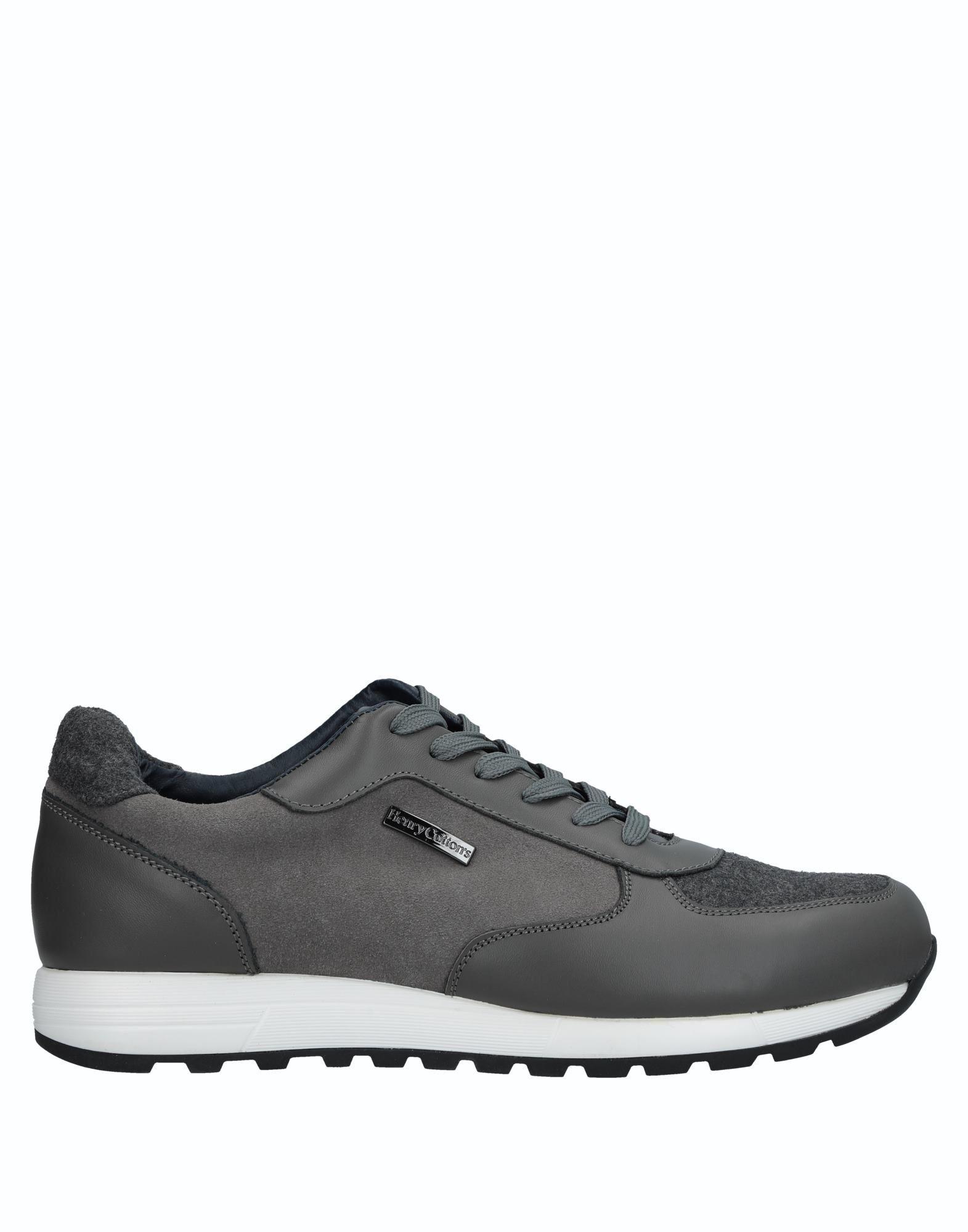 Rabatt echte Schuhe Henry Cotton's Sneakers Herren  11231599TN