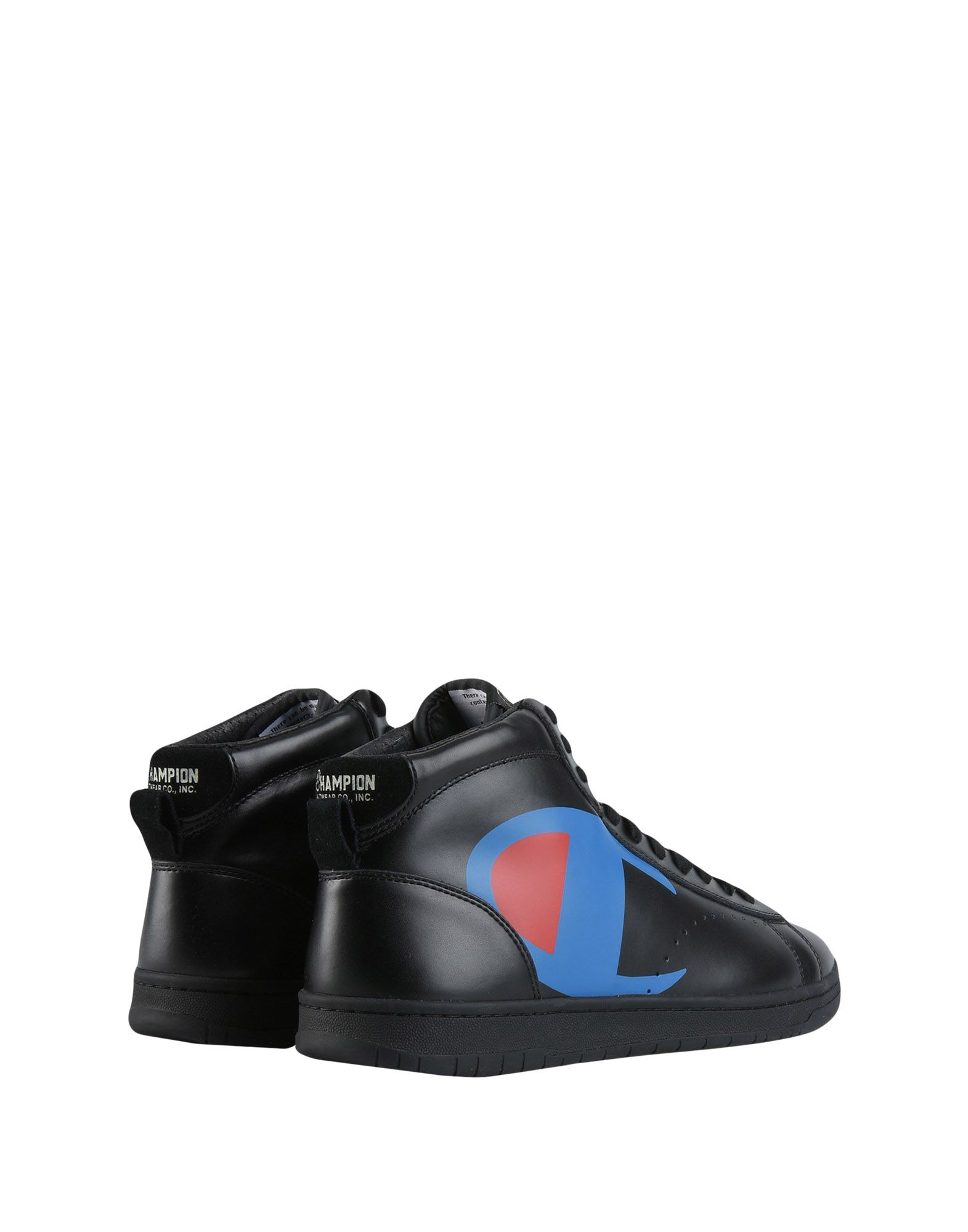 Sneakers Champion Leather Mid Logo Big - Homme - Sneakers Champion sur