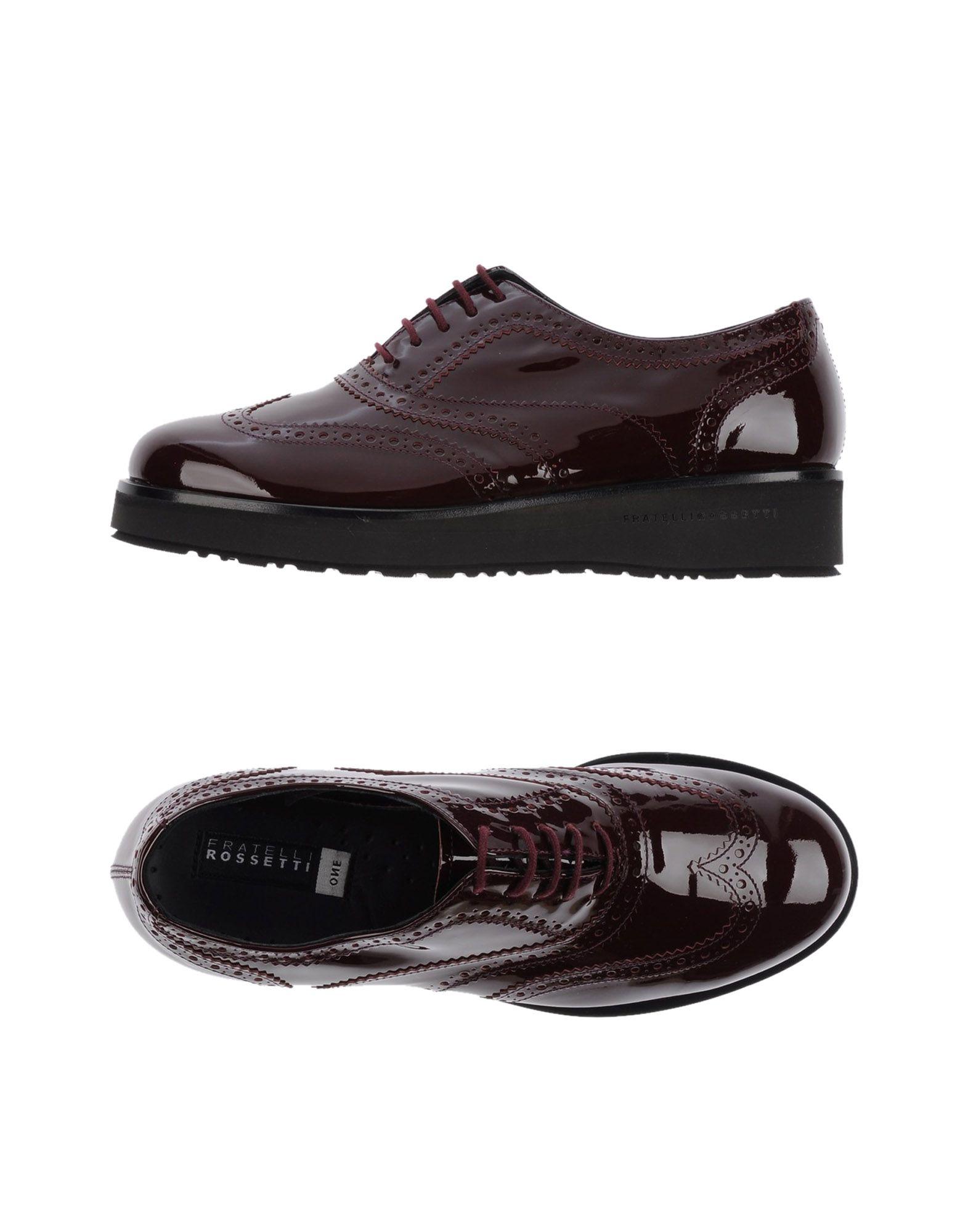 Fratelli Rossetti Schnürschuhe Damen Damen Schnürschuhe  11231868WU Neue Schuhe c8e694