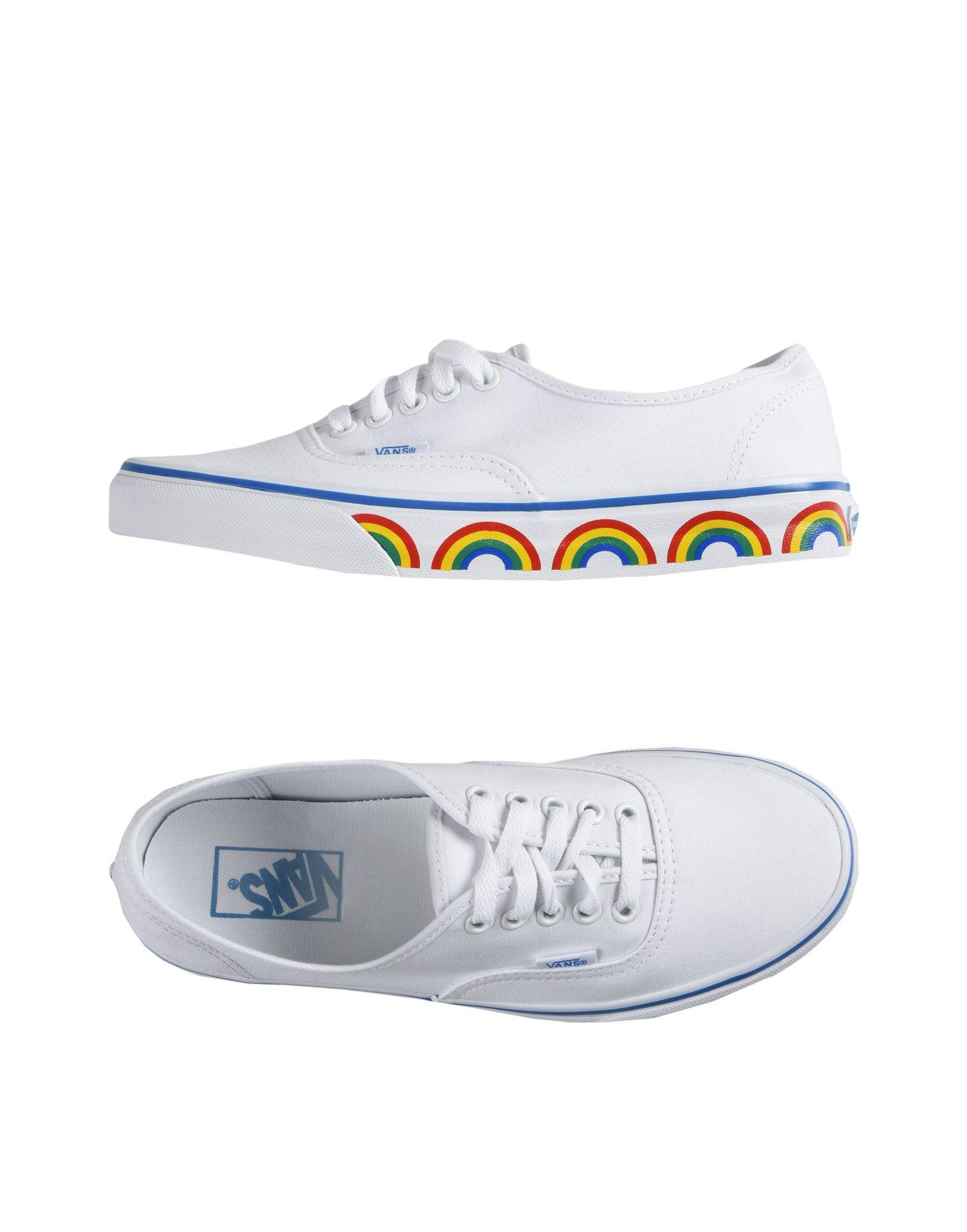 Sneakers Vans Ua Authentic - Rainbow Tape - Femme - Sneakers Vans sur