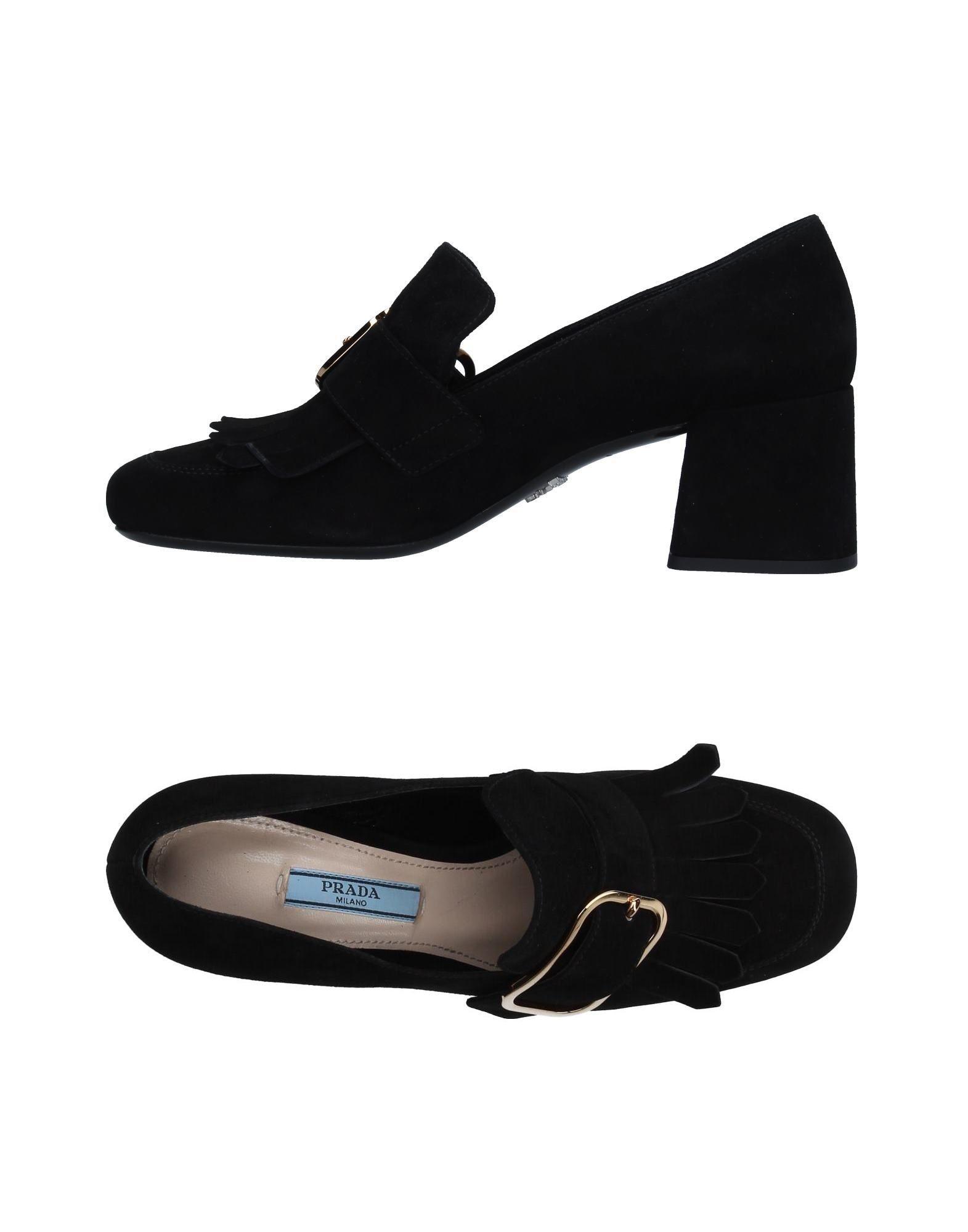 Prada Mokassins Damen  11233072WGGünstige gut aussehende Schuhe