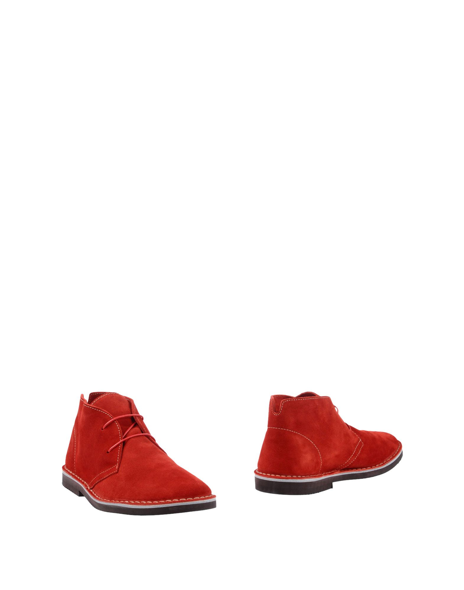 Bottine Lerews Homme - Bottines Lerews  Rouge Mode pas cher et belle