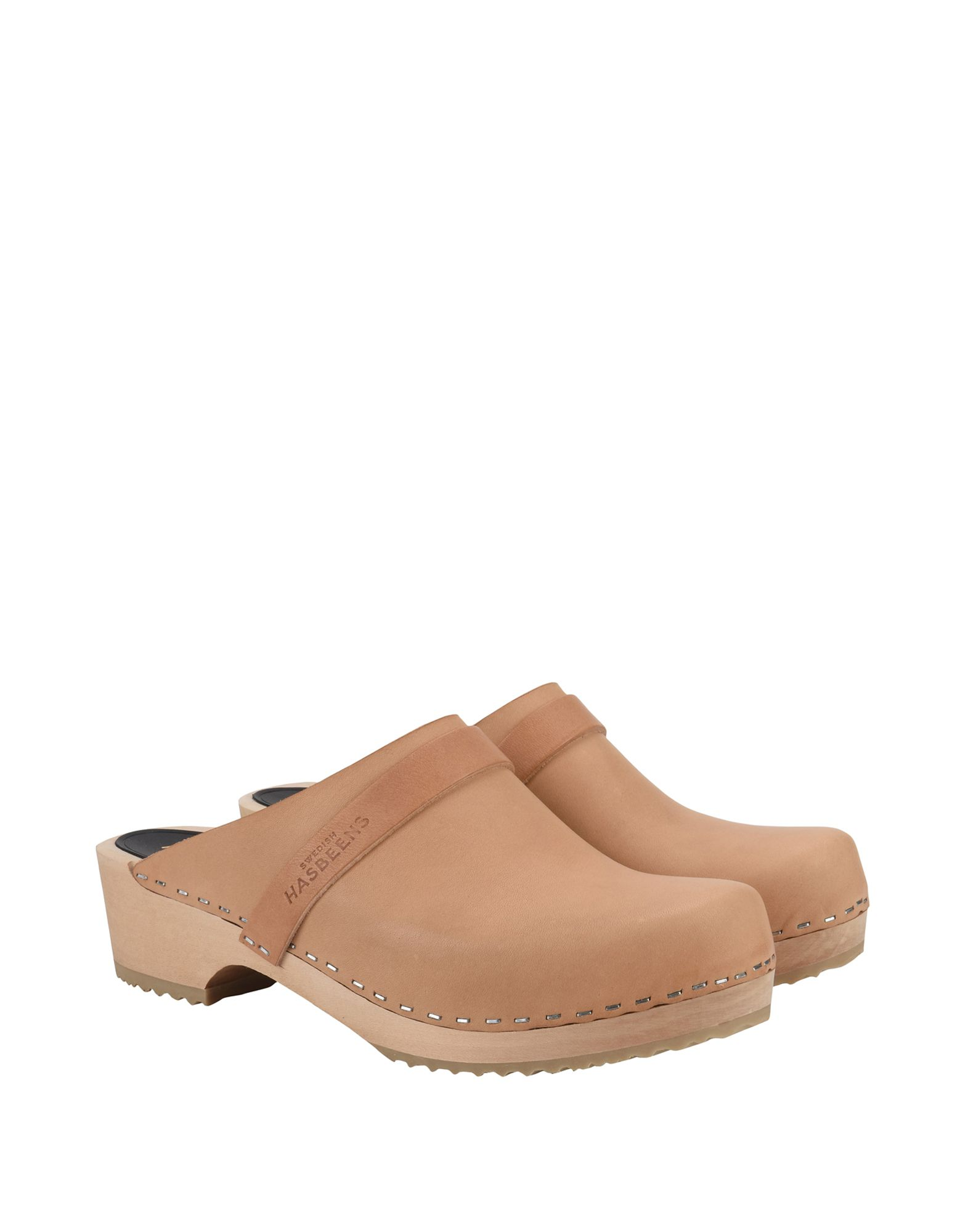 Gut um billige Damen Schuhe zu tragenSwedish Hasbeens Pantoletten Damen billige  11233741PQ c29d17