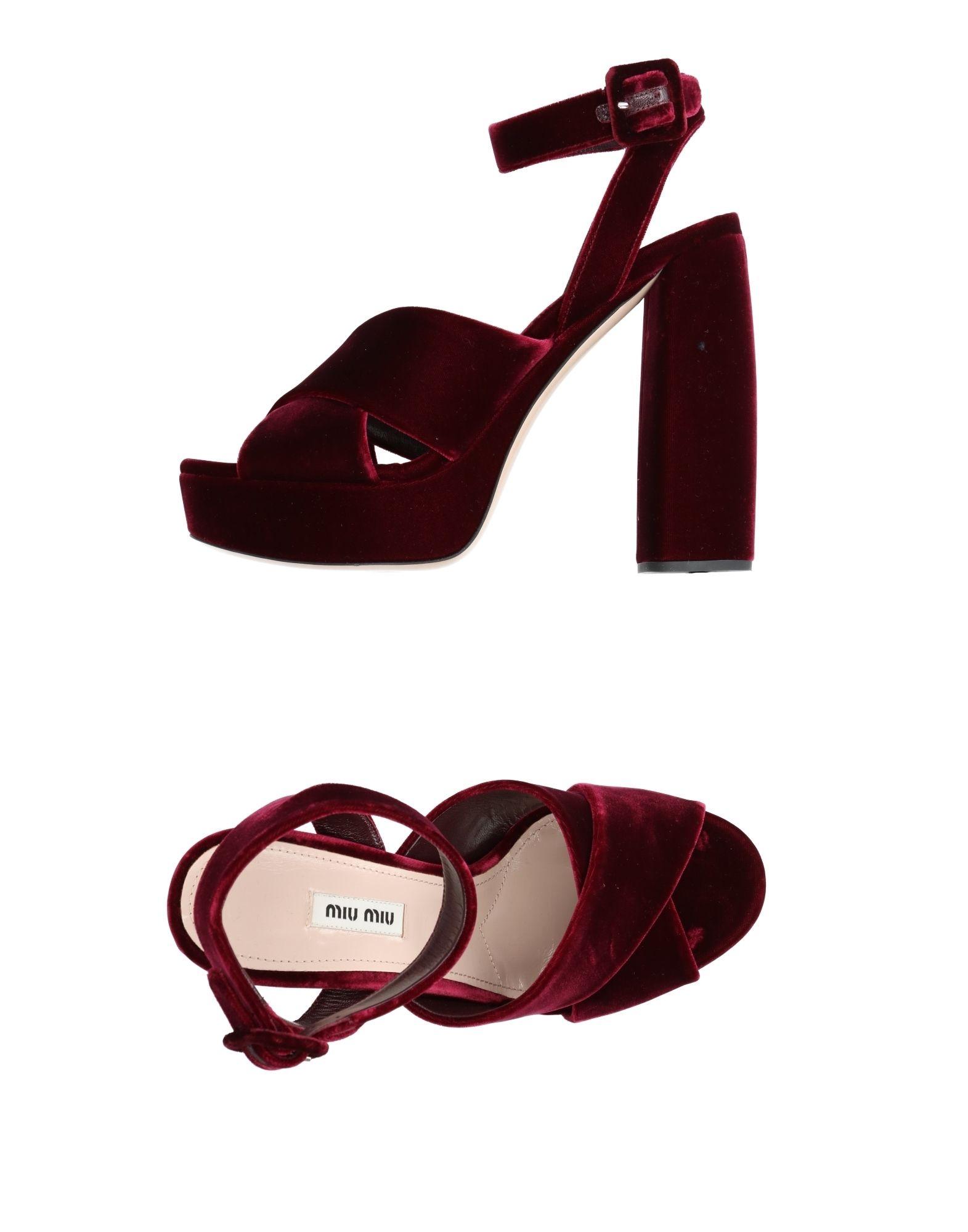 Miu Miu  Sandalen Damen  Miu 11233815WQ Neue Schuhe 9155dc