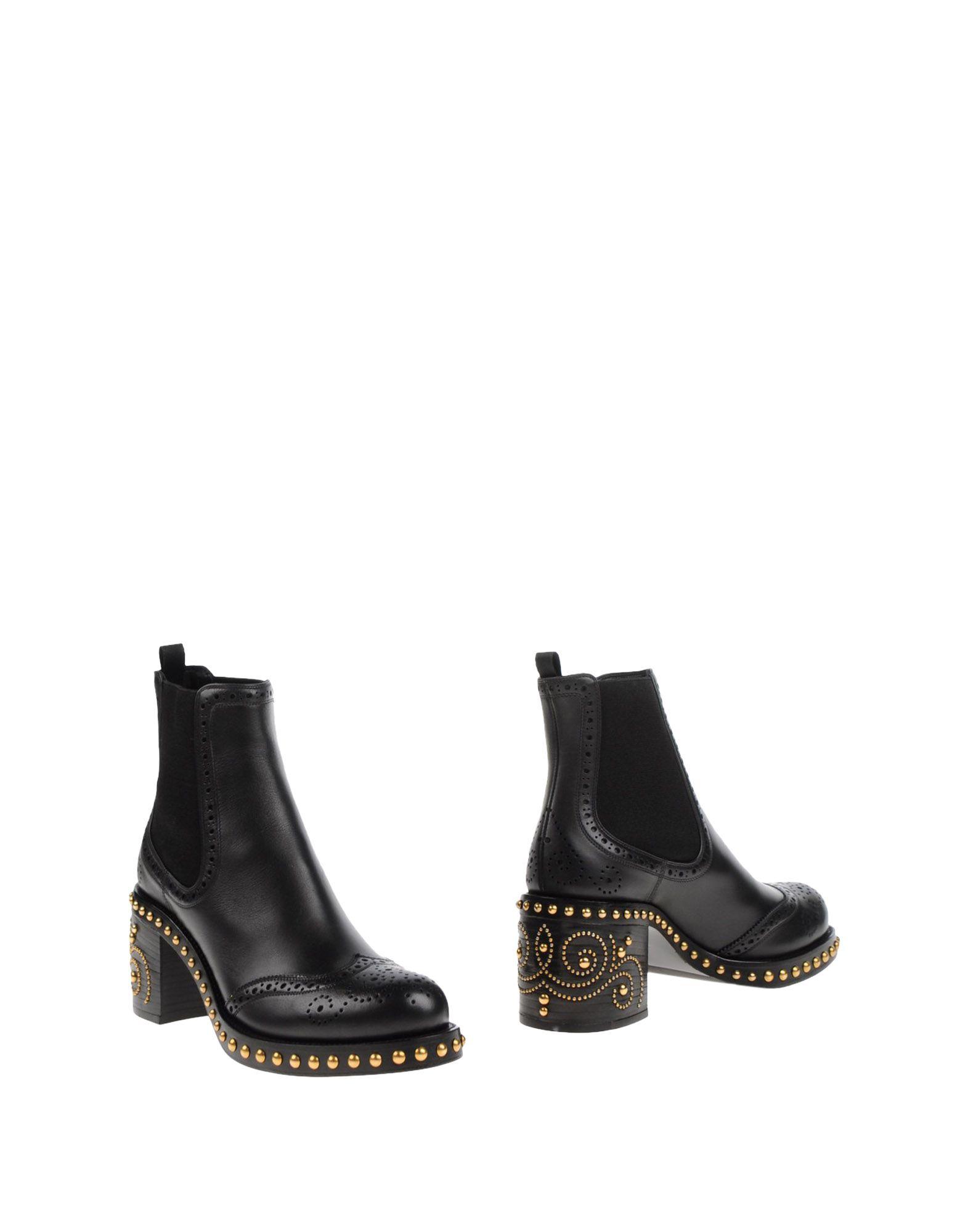 Bottine Miu Miu Femme - Dernières Bottines Miu Miu Noir Dernières - chaussures discount pour hommes et femmes cea160