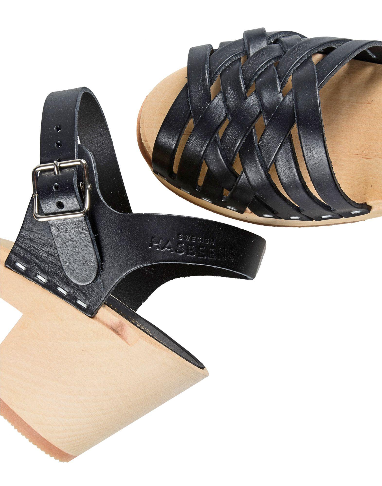 Stilvolle Sandalen billige Schuhe Swedish Hasbeens Sandalen Stilvolle Damen  11233987DA ce80ec