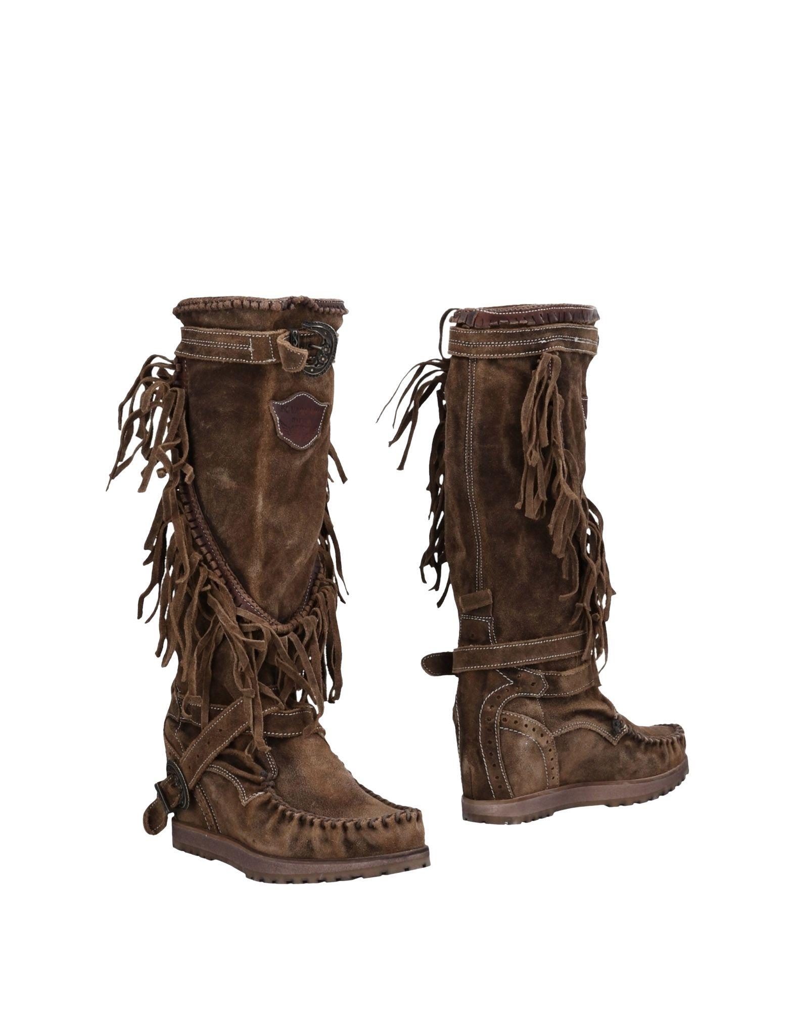 Rabatt Schuhe El Vaquero Stiefel 11234050WH Damen  11234050WH Stiefel 465327