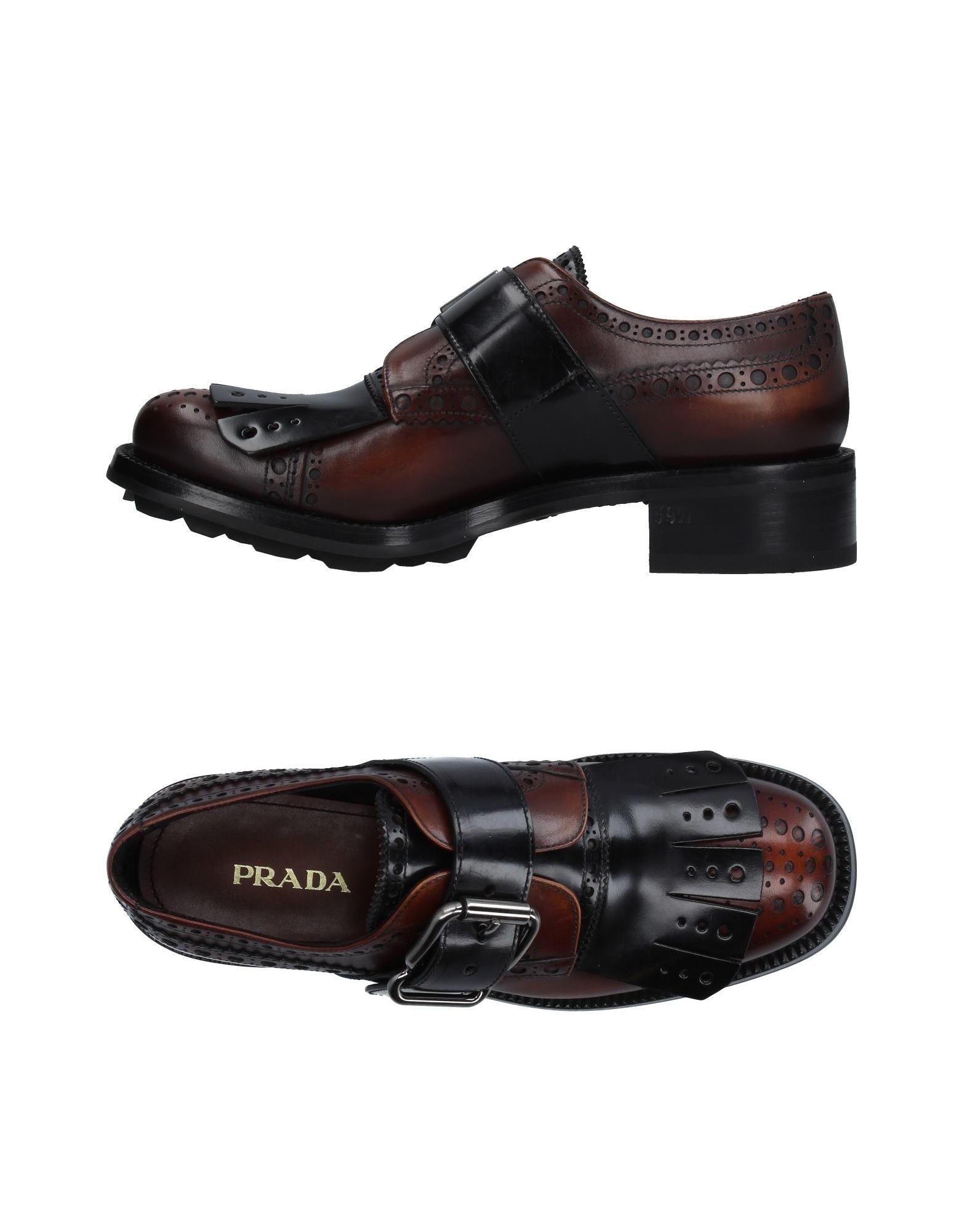 Prada Mokassins Damen  11234265WEGünstige gut aussehende Schuhe
