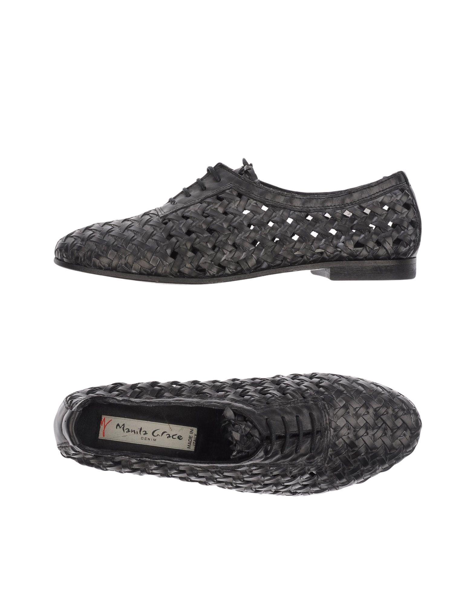 Tiempo limitado especial Zapato De Cordones Manila Grace Dim Dim Grace Mujer - Zapatos De Cordones Manila Grace Dim  Gris marengo 5c6356