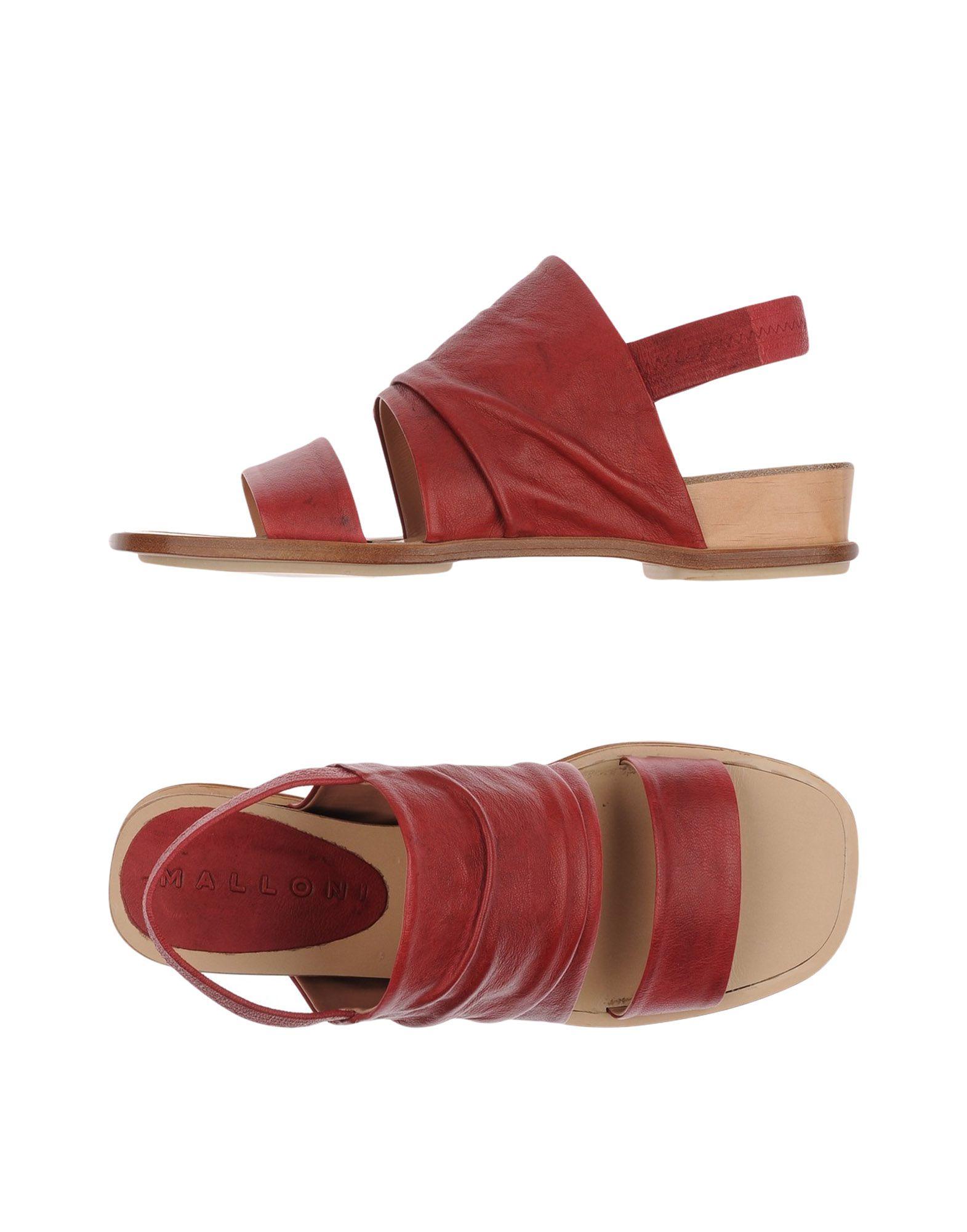 Malloni Sandalen Damen  11235692LTGut aussehende strapazierfähige Schuhe