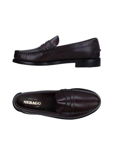 SEBAGO Loafers in Maroon