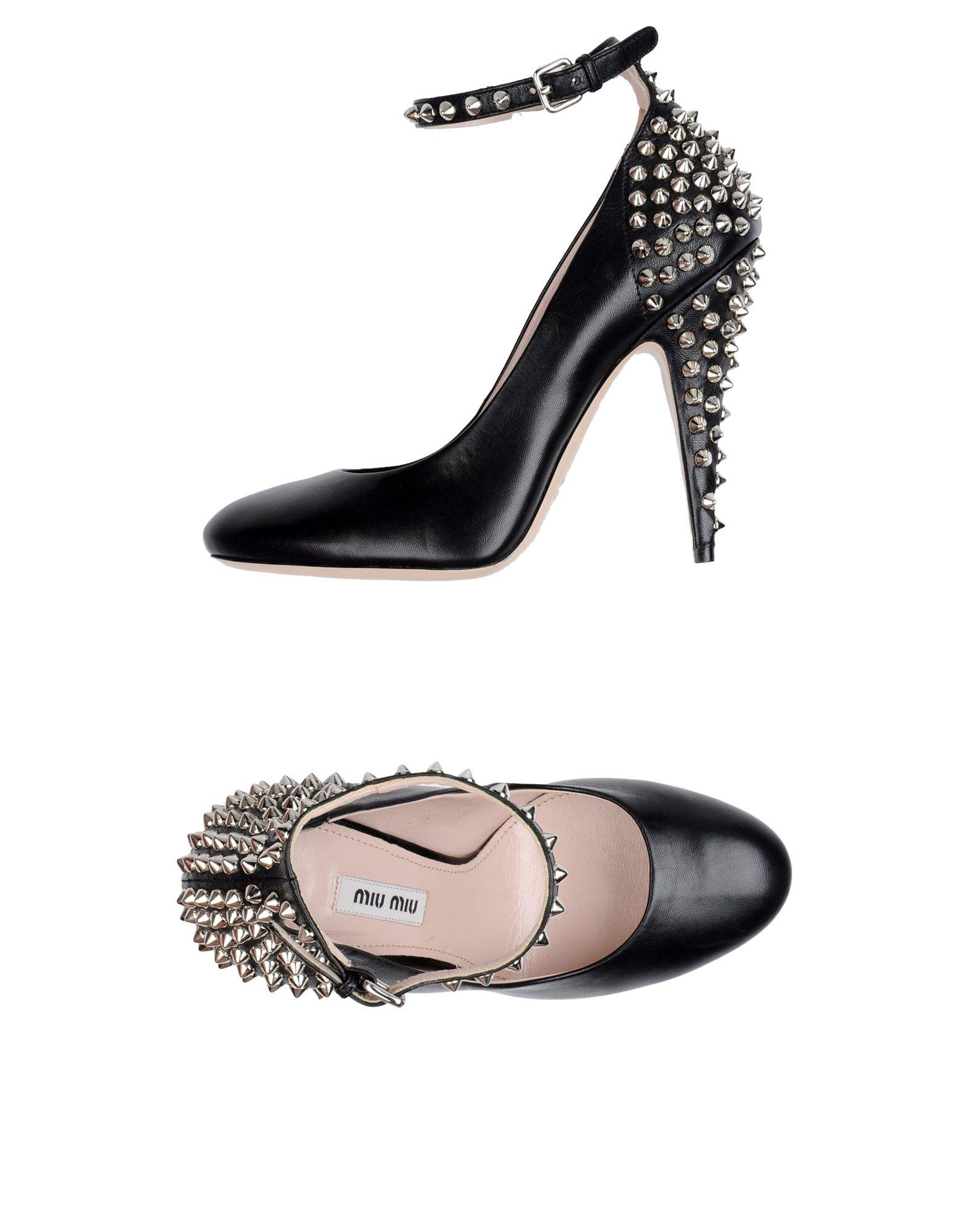 Miu Miu Pumps aussehende Damen  11236211KHGünstige gut aussehende Pumps Schuhe 75d26f