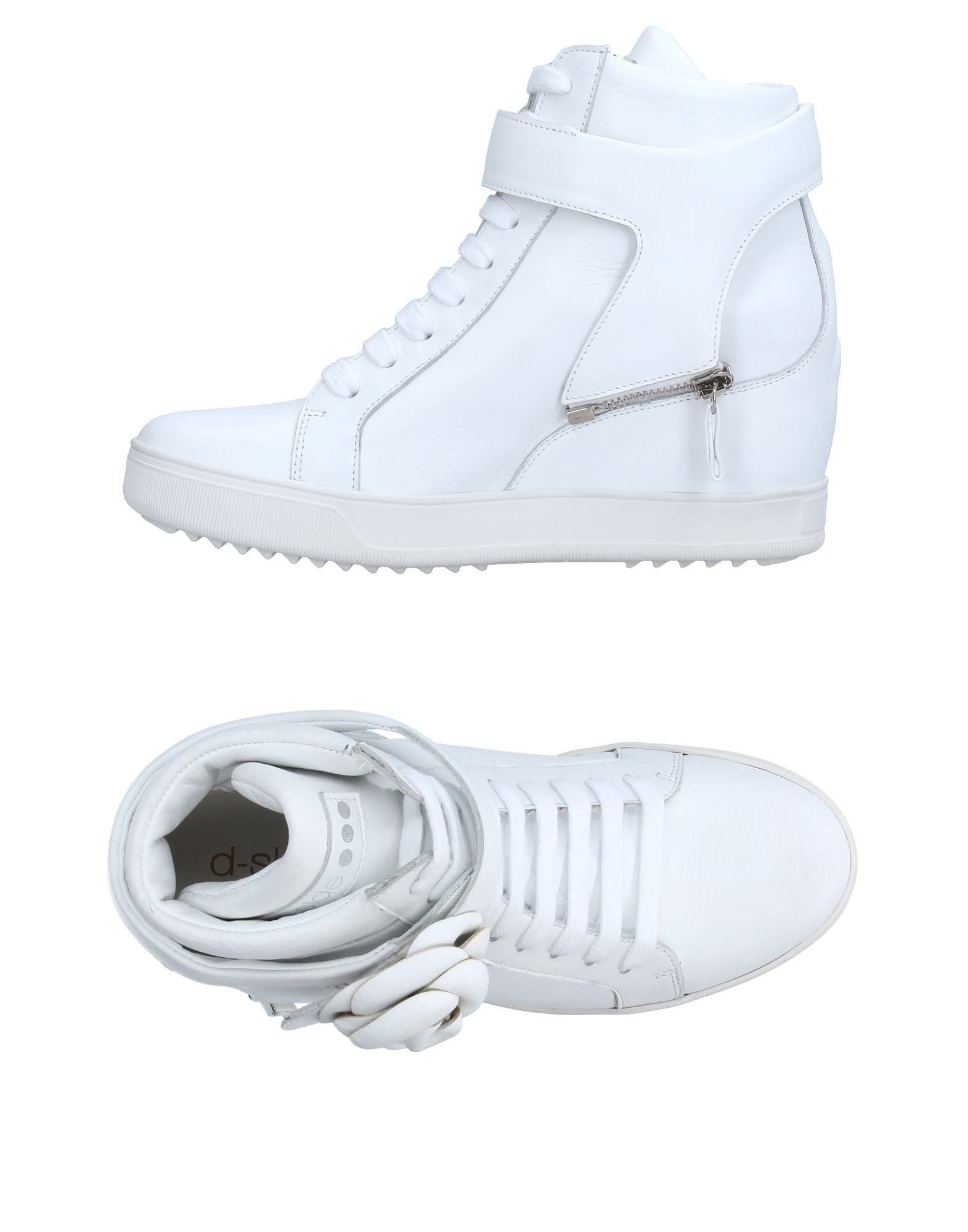 Baskets D-S!De Femme - casual Baskets D-S!De Blanc Chaussures casual - sauvages 81f86d