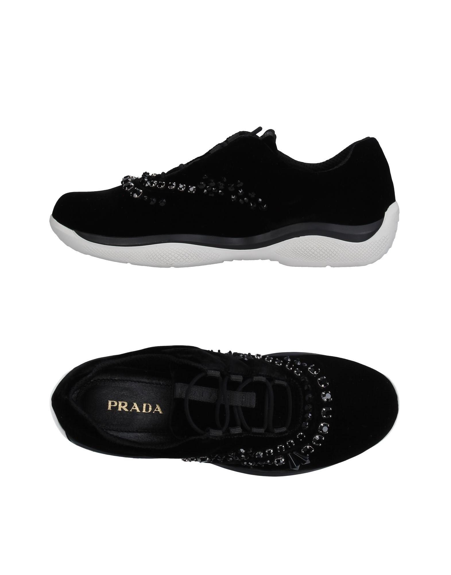 Prada Sneakers Damen  11236361DBGünstige gut aussehende Schuhe