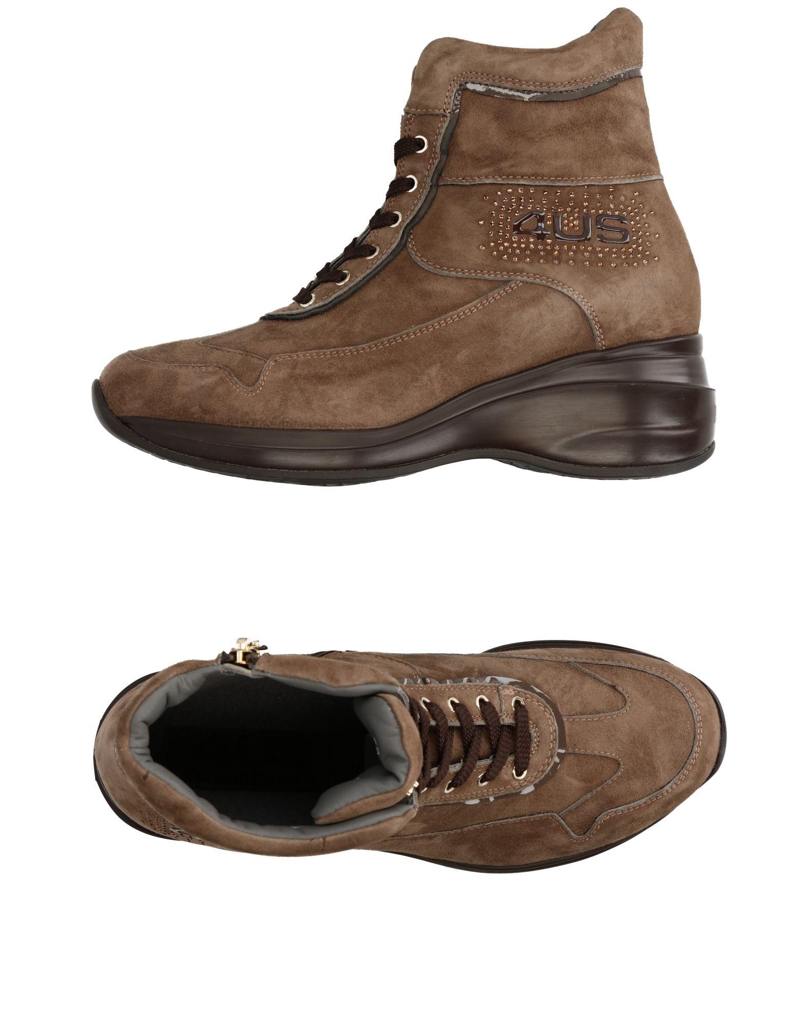 Baskets Cesare Paciotti 4Us Femme - Baskets Cesare Paciotti 4Us Gris tourterelle Dernières chaussures discount pour hommes et femmes
