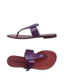 JIL SANDER - Flip flops