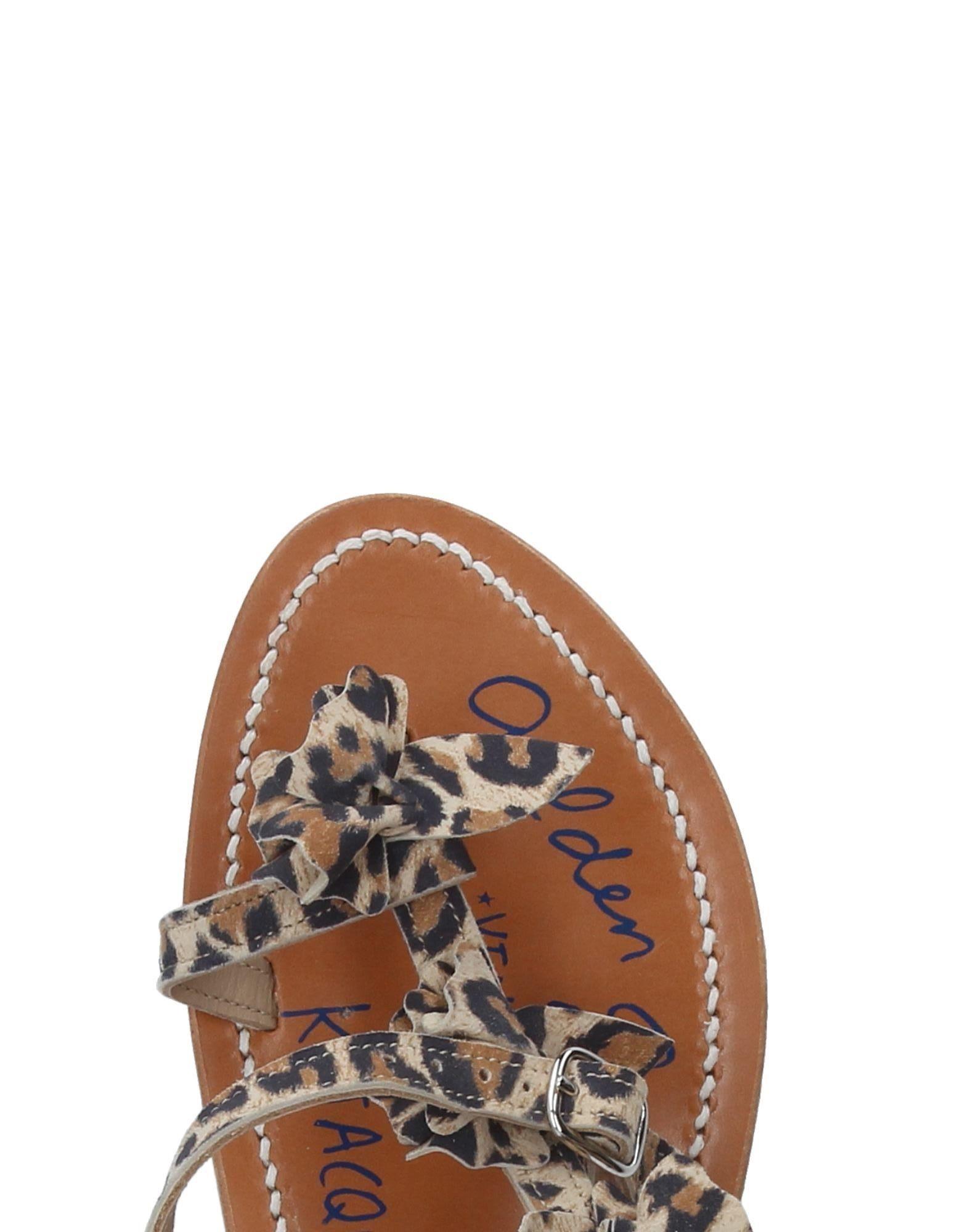 Rabatt Schuhe Golden Damen Goose By K.Jacques St. Tropez Dianetten Damen Golden  11237357SC 3200d9