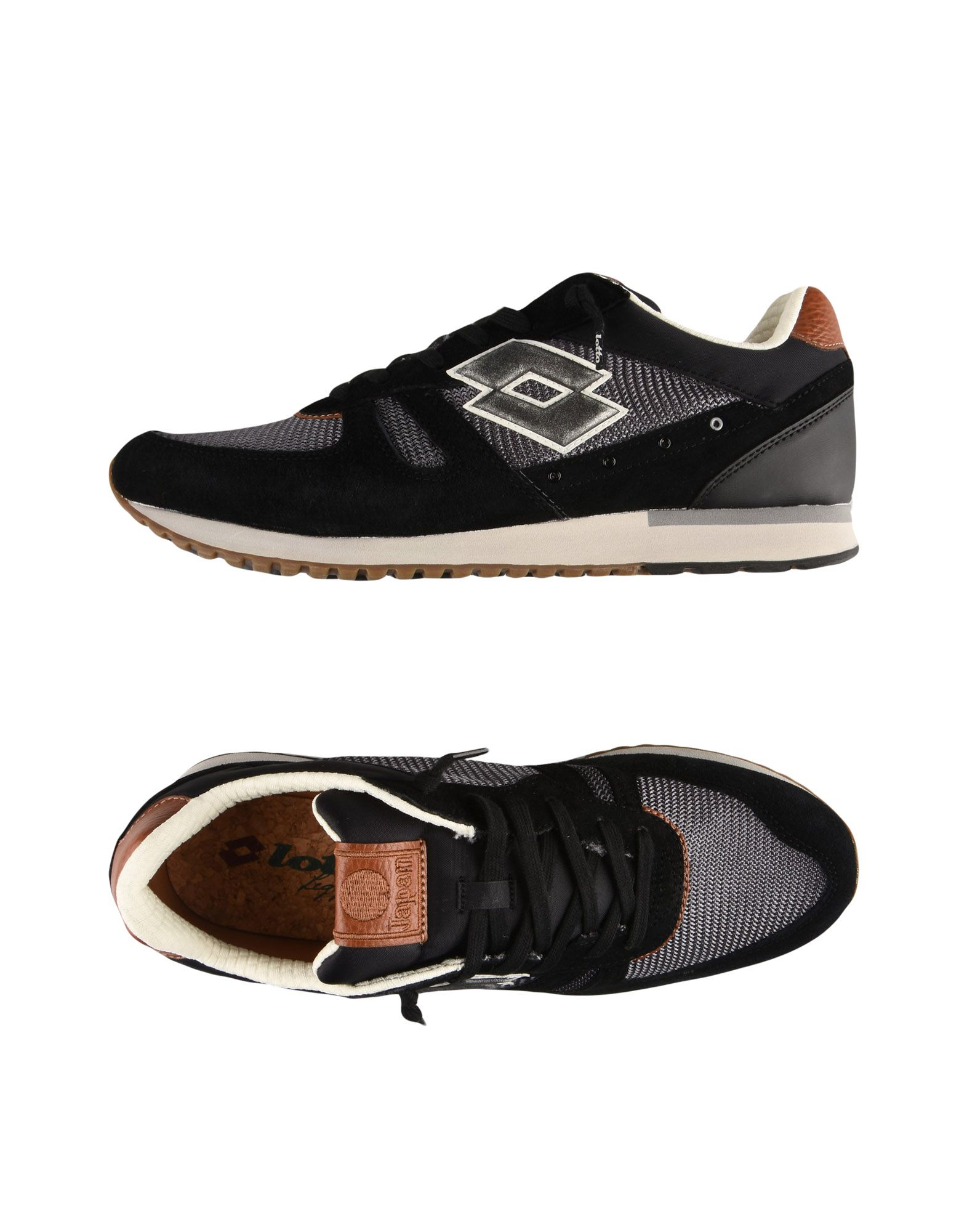 Sneakers Lotto Leggenda  Tokyo Shibuya - Homme - Sneakers Lotto Leggenda  Noir Réduction de prix saisonnier, remise