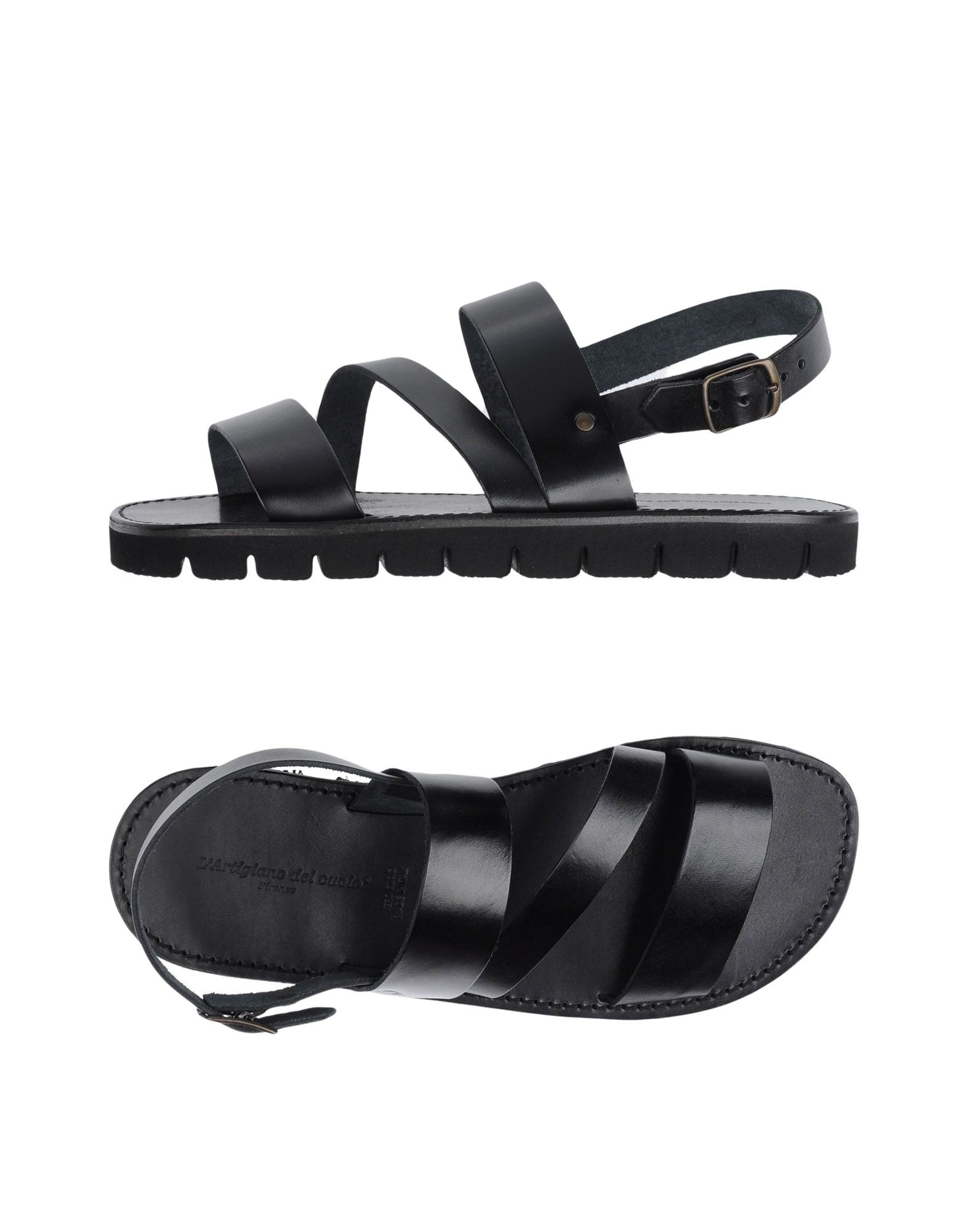 Rabatt echte Schuhe L'artigiano Del Cuoio Sandalen Herren  11238548DS