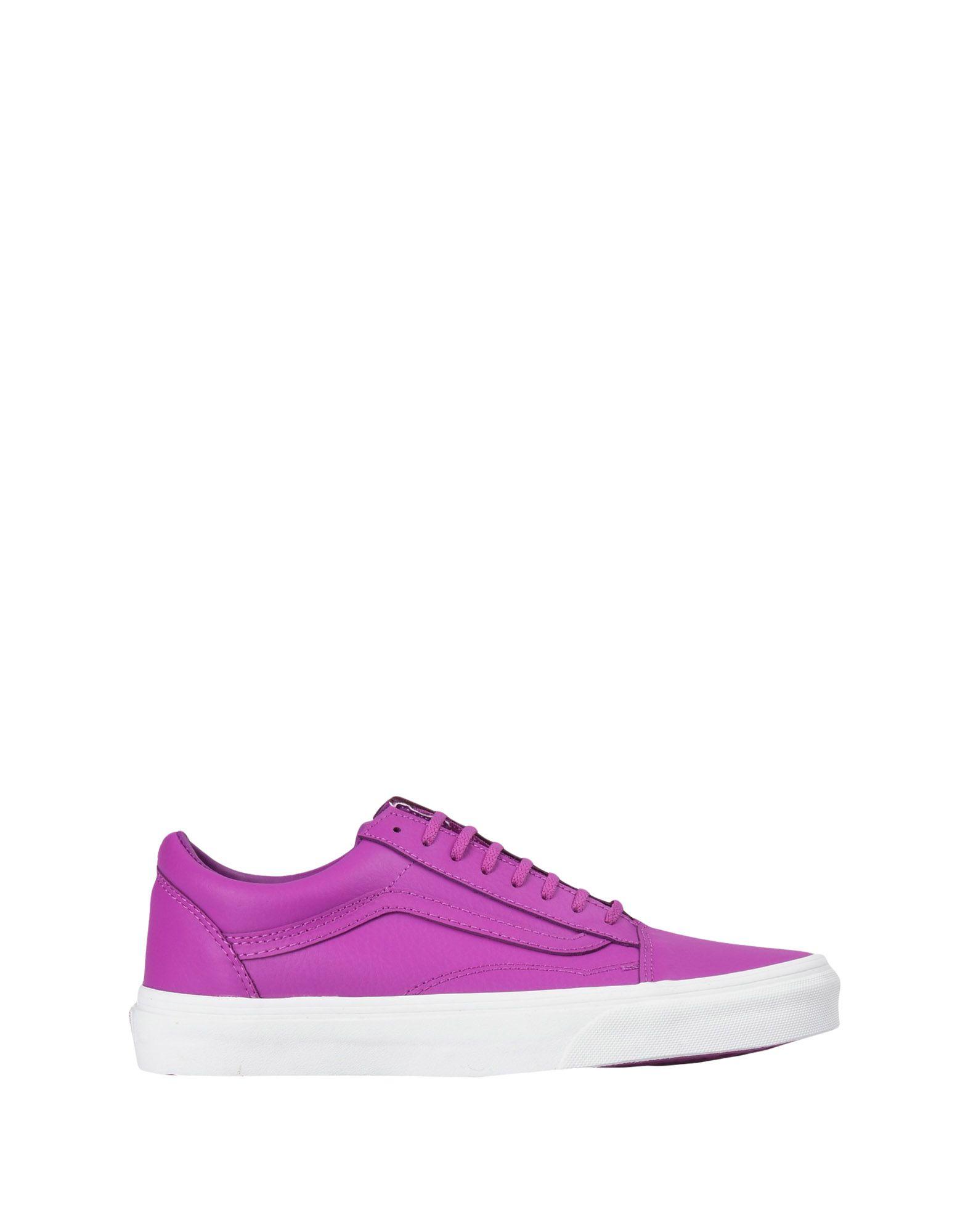 Sneakers Vans Ua Old Skool - Neon Leather - Femme - Sneakers Vans sur