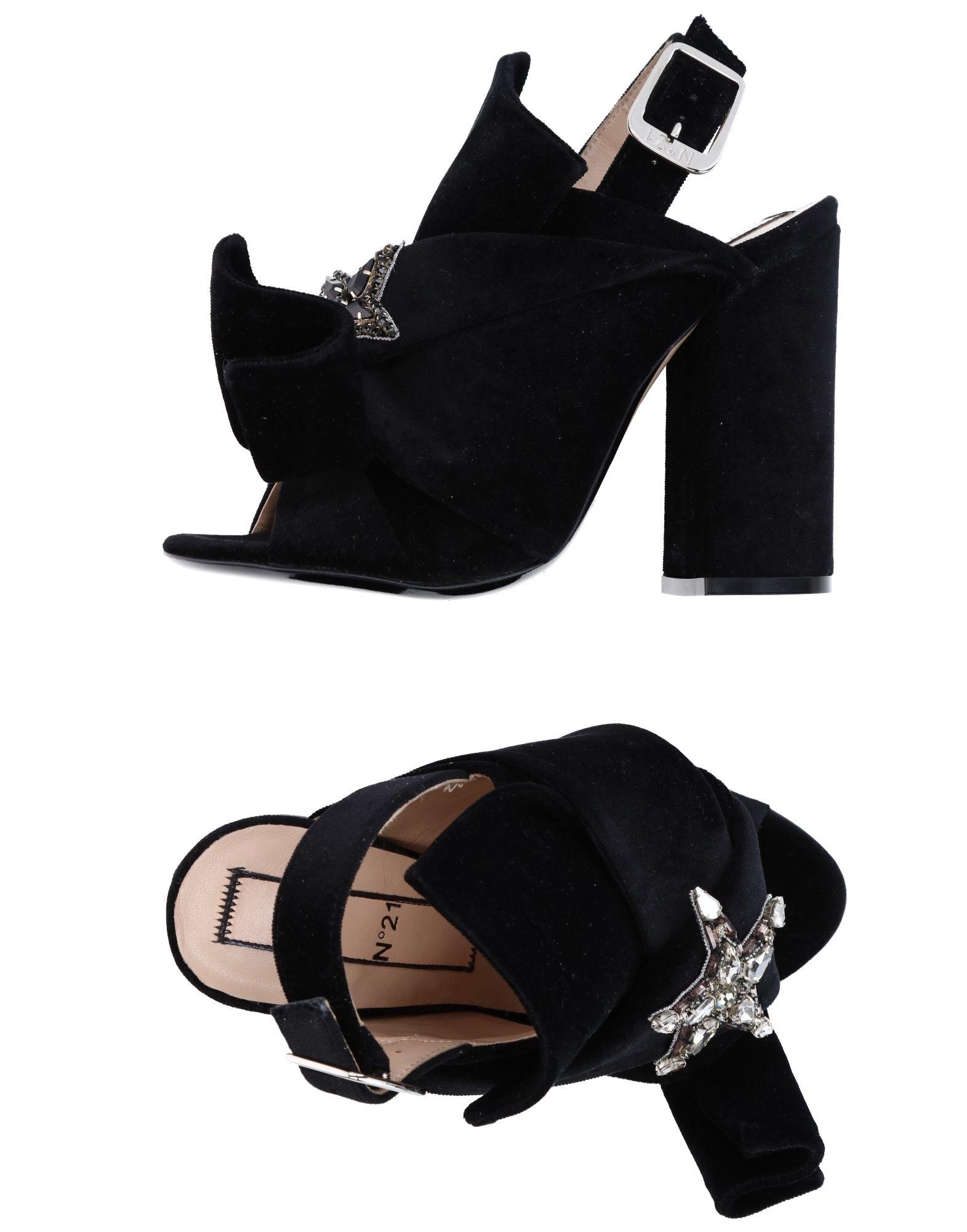 Rabatt Schuhe N° 21 Sandalen Damen  11238927KQ