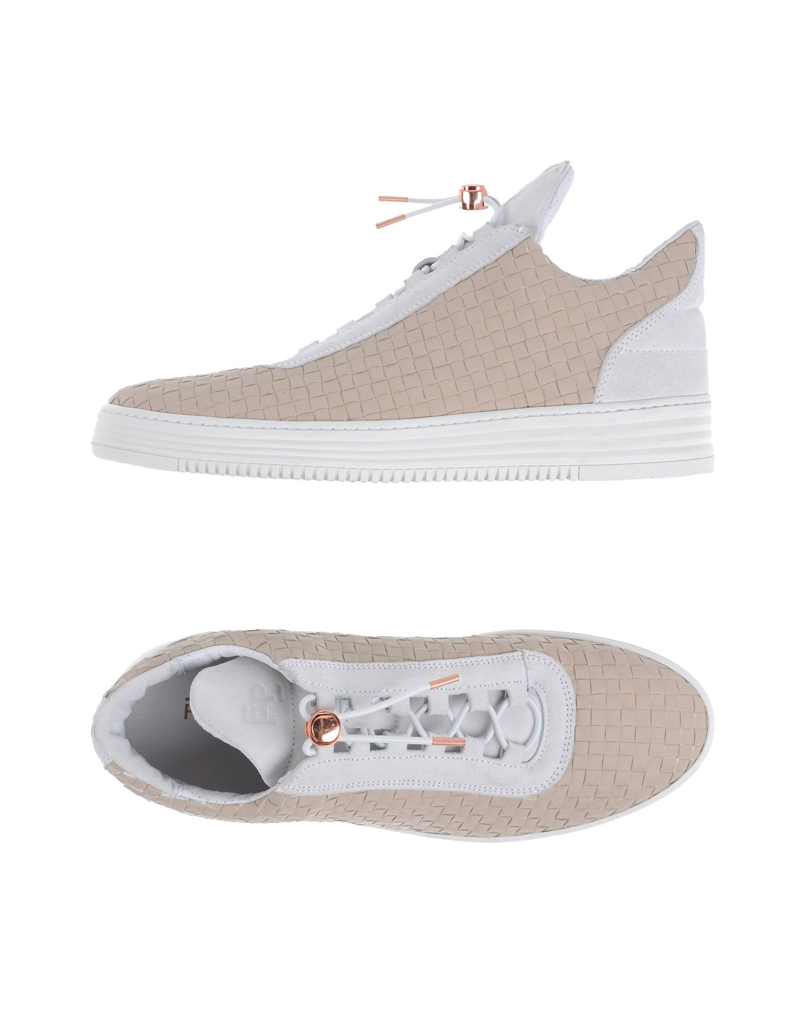 Sneakers Filling Pieces Homme - Sneakers Filling Pieces  Sable Super rabais