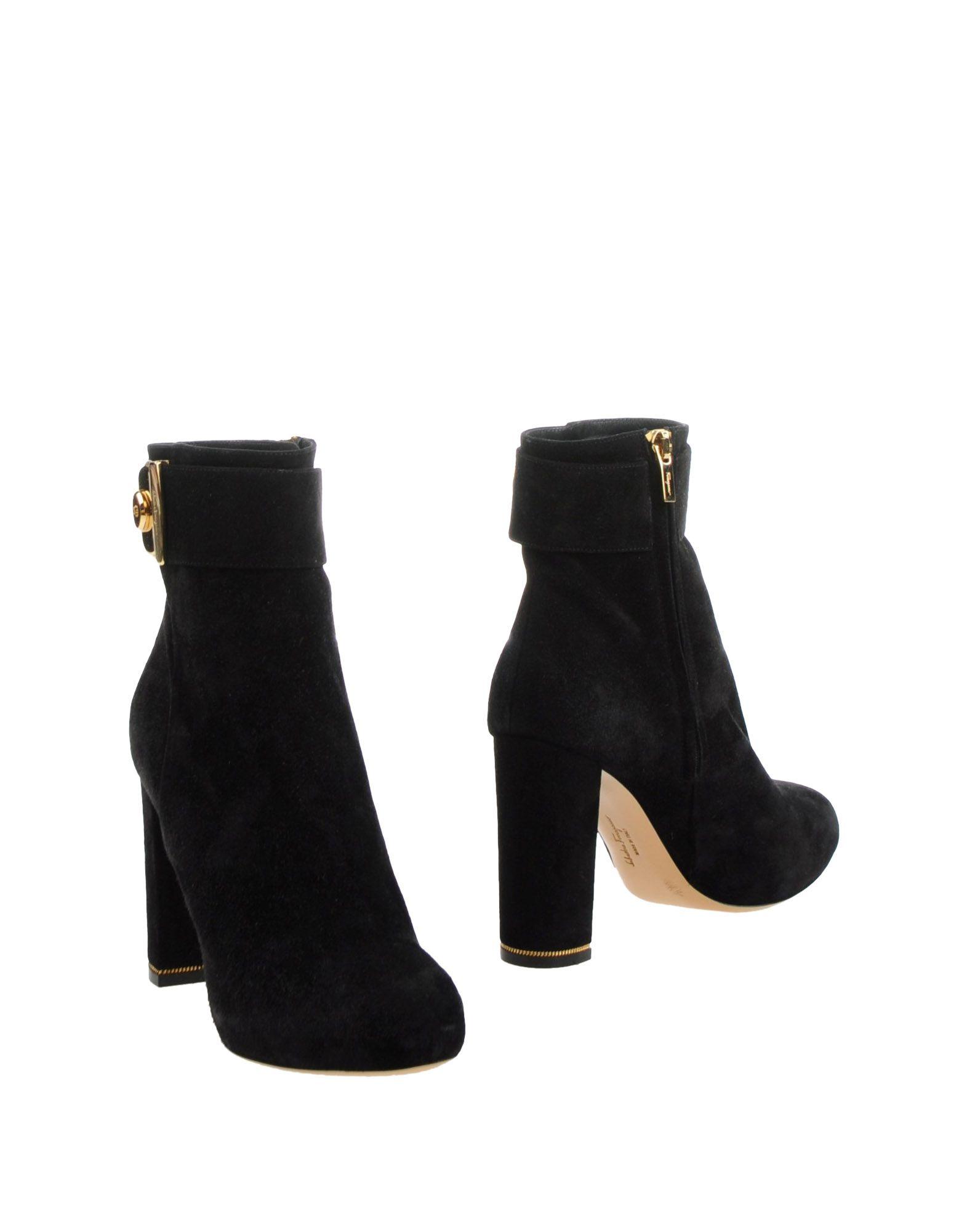 Salvatore Ferragamo Stiefelette aussehende Damen  11240868HLGünstige gut aussehende Stiefelette Schuhe 193dce