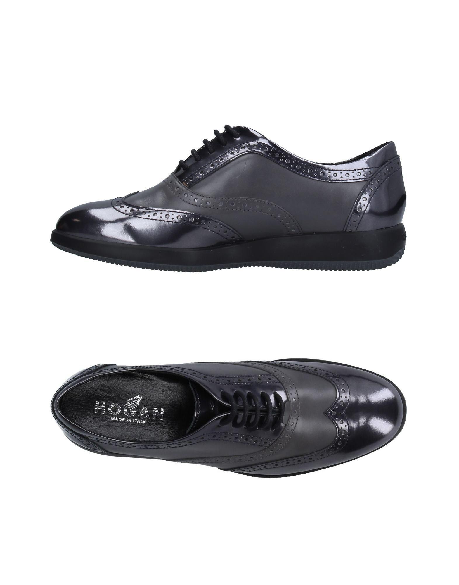 Stilvolle billige Schuhe Hogan Schnürschuhe Damen  11241124HT