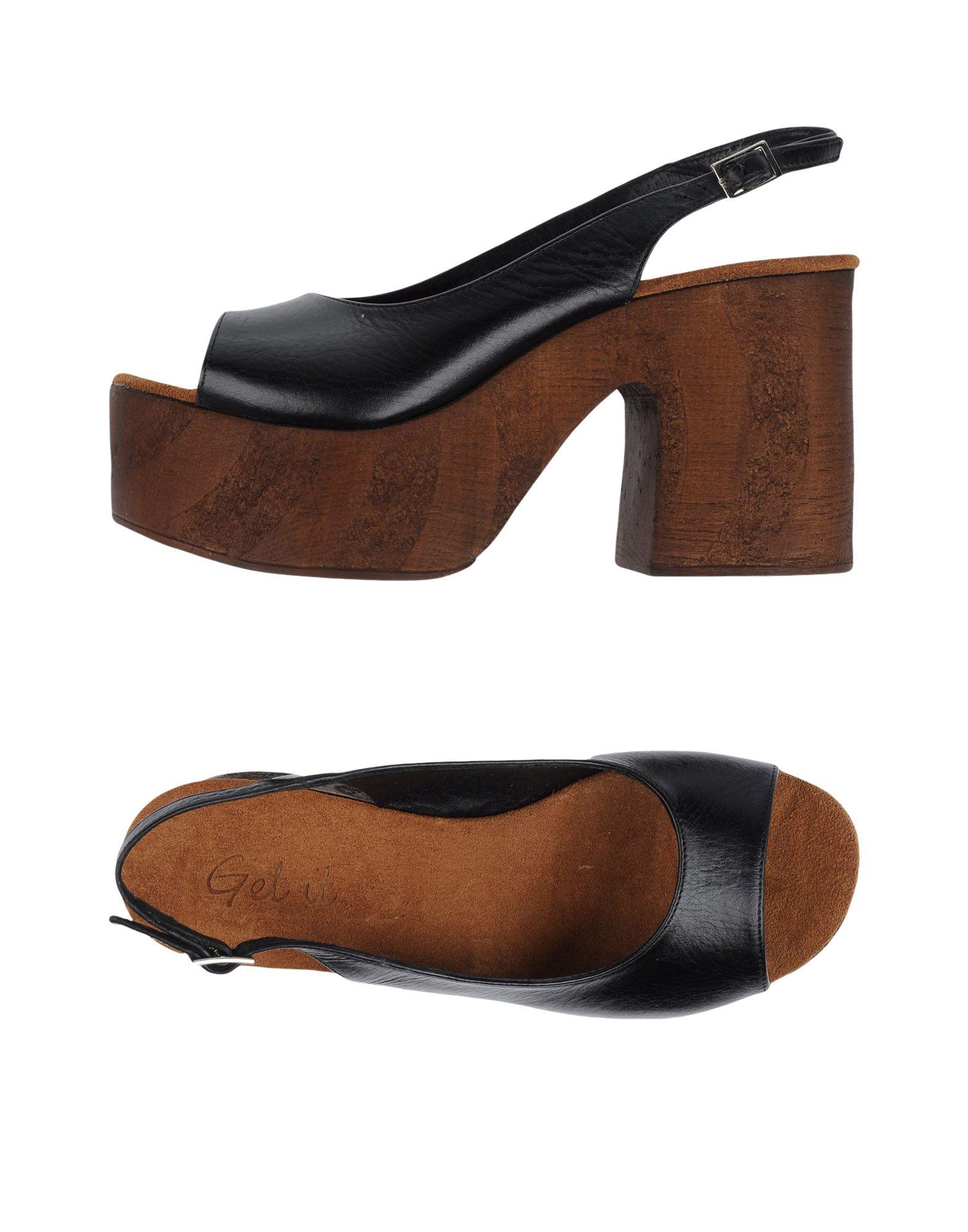 Get It Sandalen Damen Damen Sandalen  11241360FI Gute Qualität beliebte Schuhe bb1643