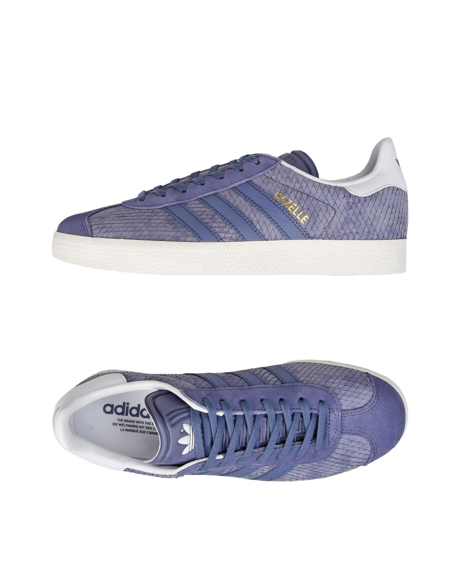 Baskets Adidas Originals Gazelle W - Femme - Baskets Adidas Originals Violet Chaussures casual sauvages