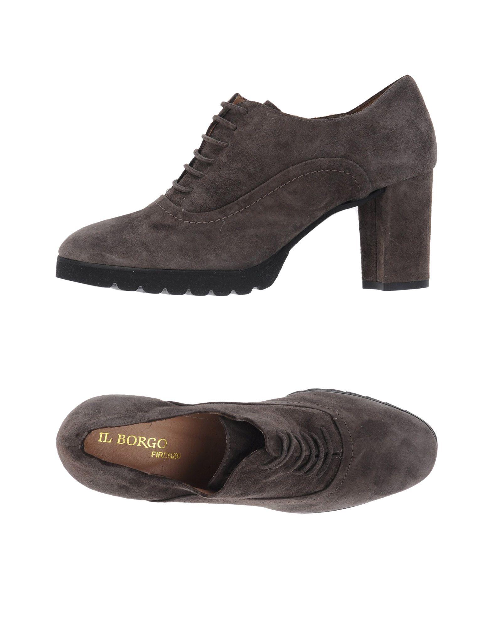 CHAUSSURES - Chaussures à lacetsIl Borgo Firenze Vente Fiable Acheter Pas Cher Dernière Prix De Gros Pas Cher En Ligne Vente Finishline jJXK8