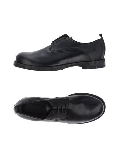 LUCA VALENTINI Laced Shoes in Black