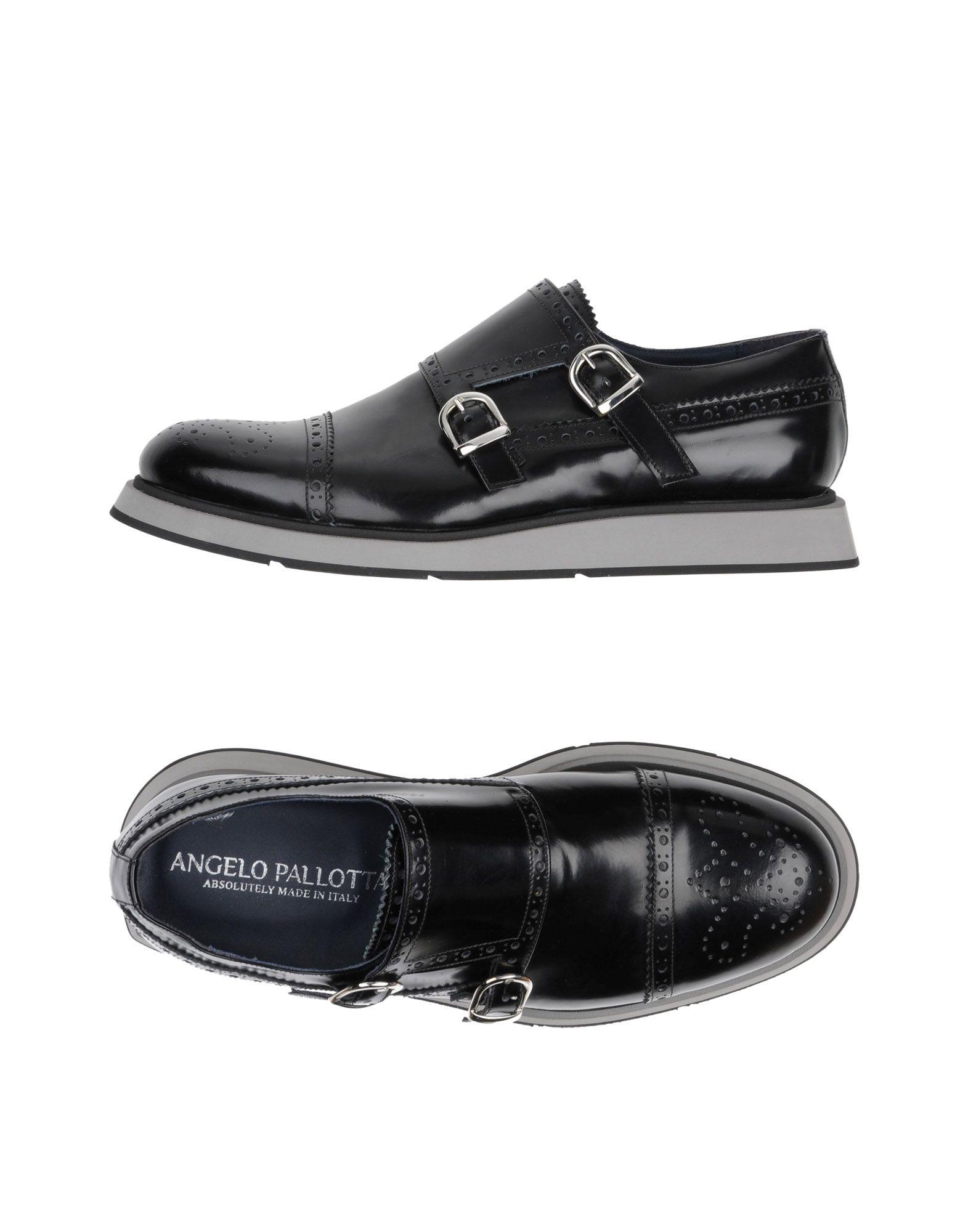 Negro Mocasín Angelo Pallotta Hombre - Mocasines Angelo Pallotta Pallotta Pallotta Zapatos casuales salvajes 063dc1